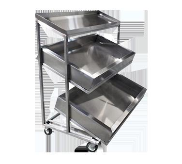 Winholt Equipment SSMI2T-4-59-2MLC cart, display merchandising