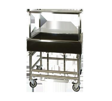 Winholt Equipment SSMIT-3636MLC-CAN-ADJ produce merchandising table