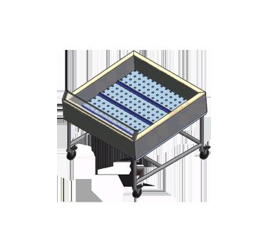 Winholt Equipment SSMIT-4848-MLC-SNG-KIT produce merchandising table