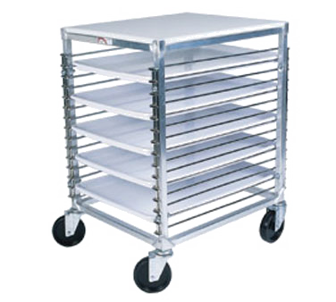 Winholt Equipment WP-1815-PPT pan rack with work top, mobile