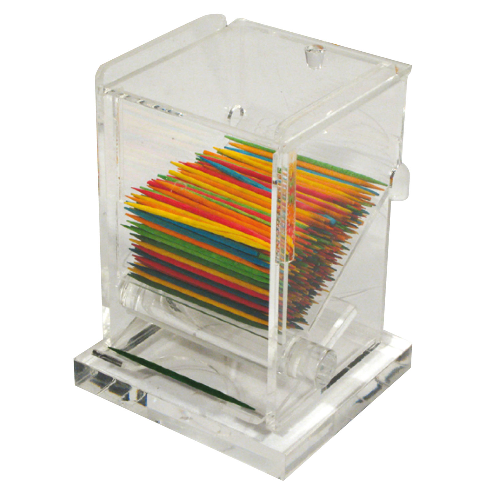 Winco ACTD-3 toothpick holder / dispenser