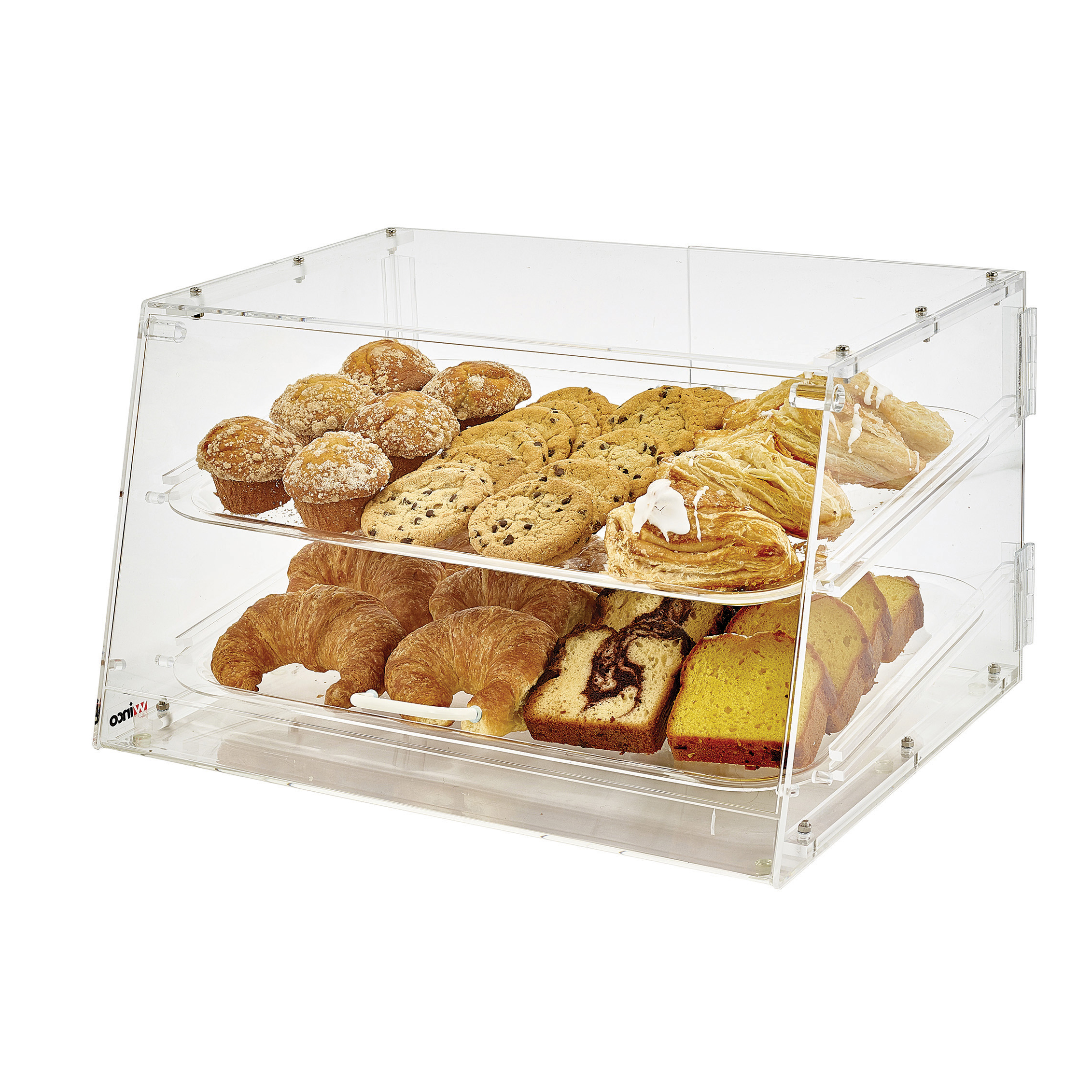 Winco ADC-2 display case, pastry, countertop