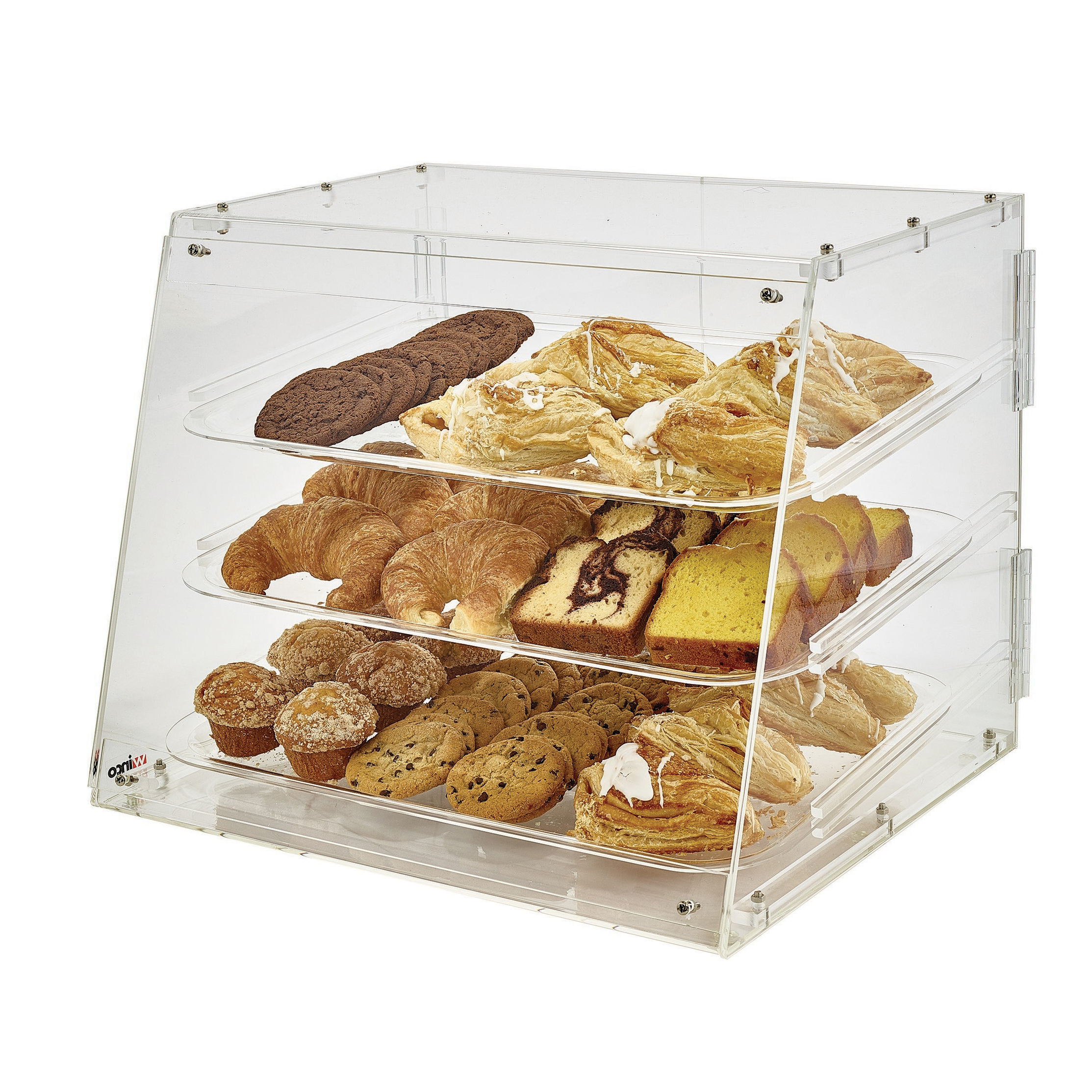 Winco ADC-3 display case, pastry, countertop