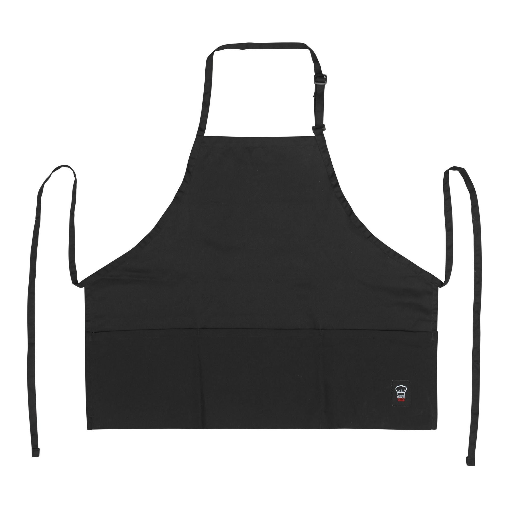 Winco BA-2724K bib apron