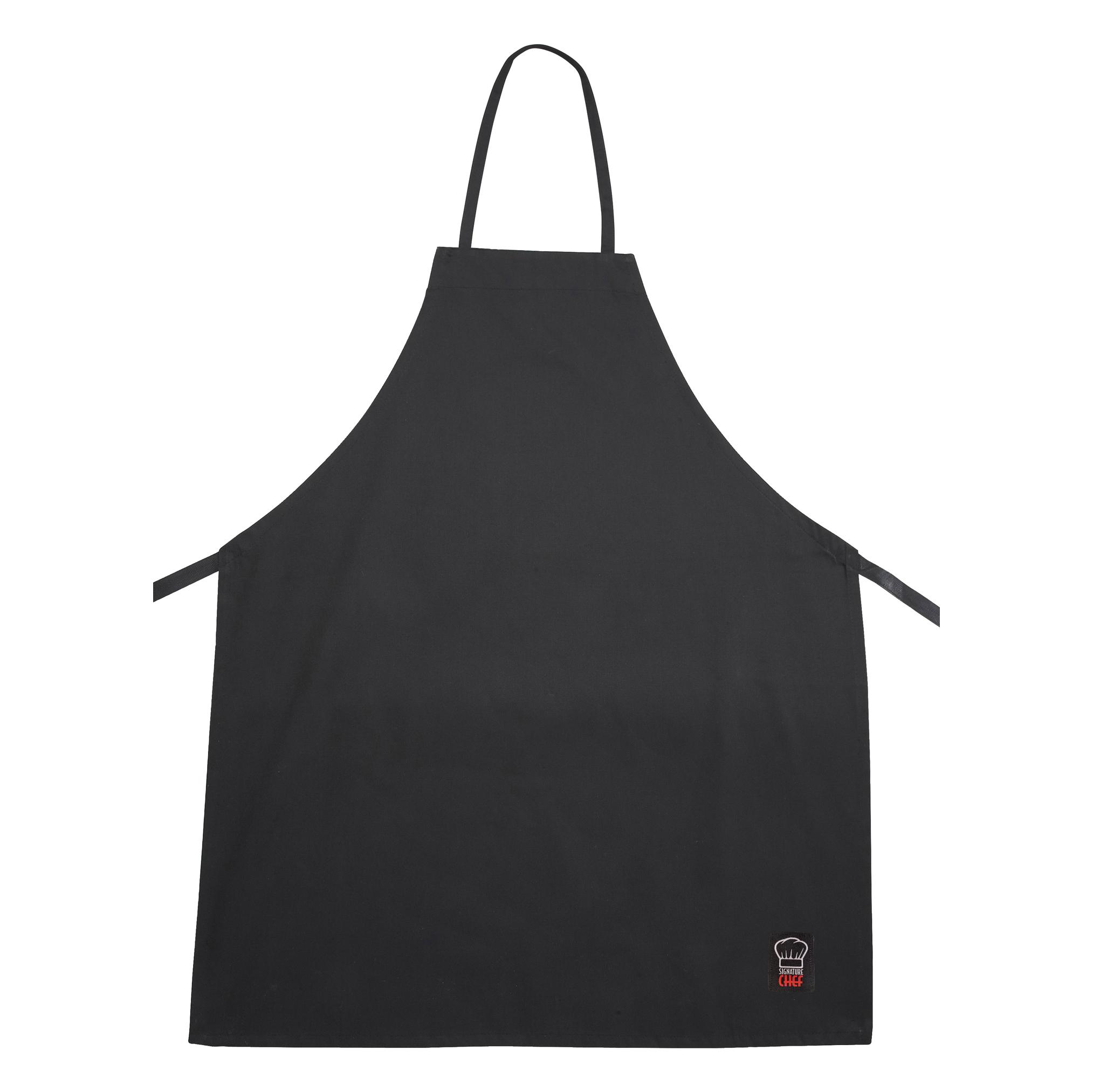 Winco BA-3226BK bib apron