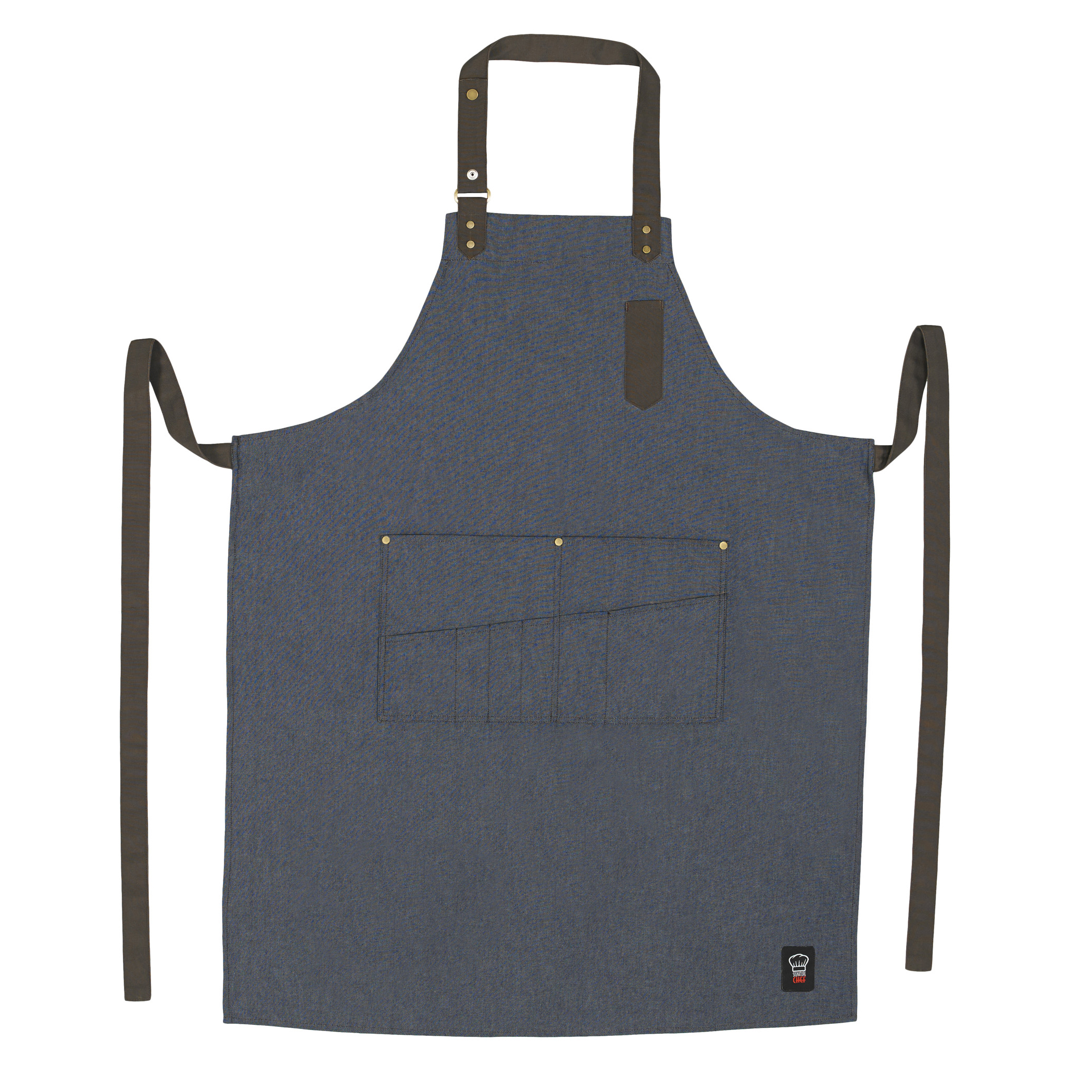 Winco BA-3327B bib apron