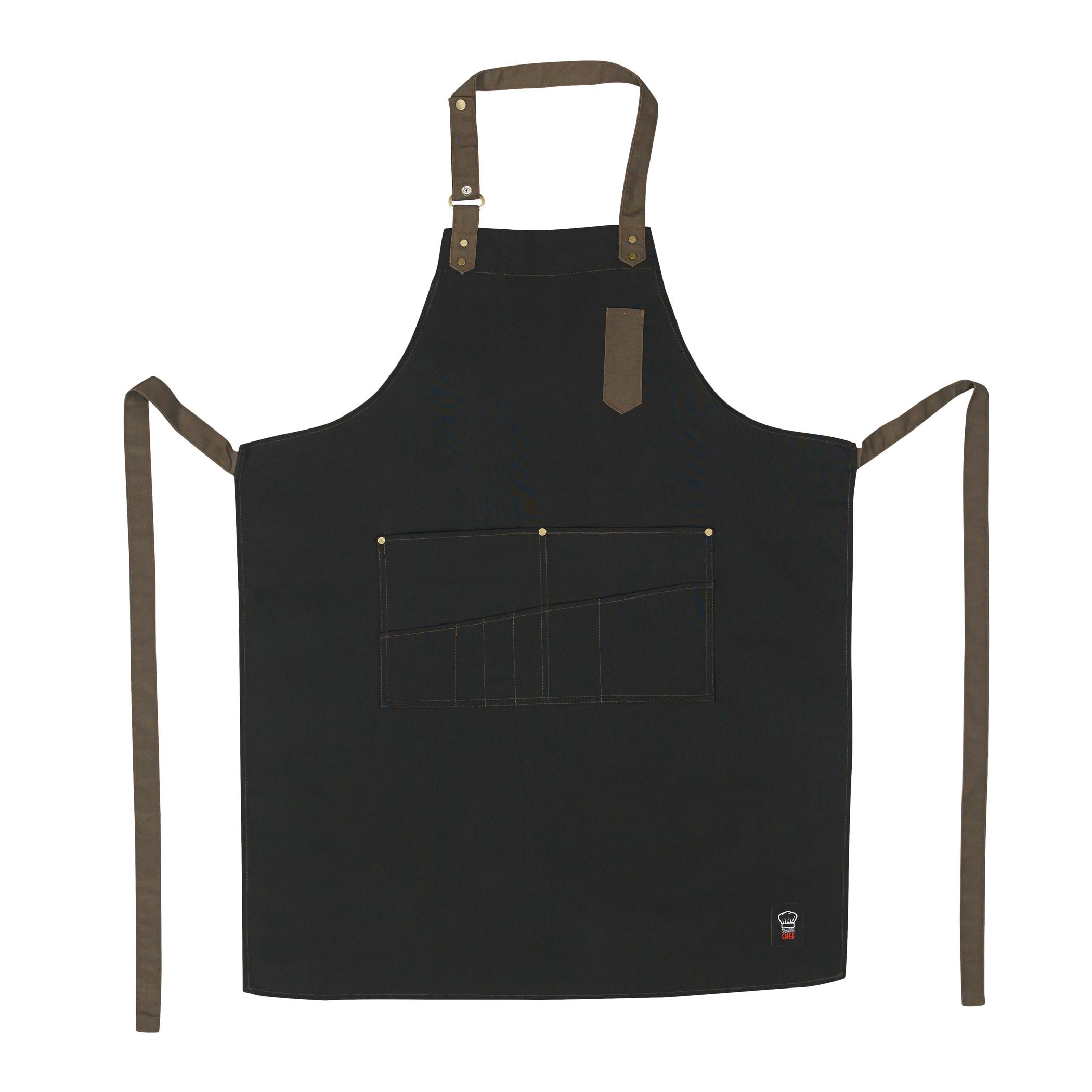 Winco BA-3327K bib apron