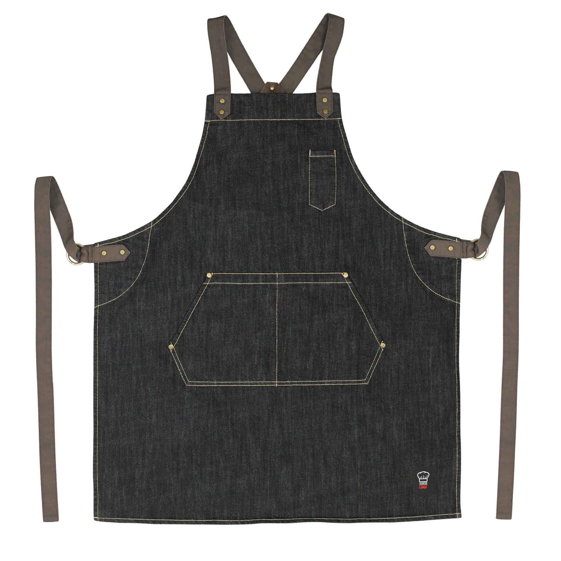 Winco BADN-3126 bib apron