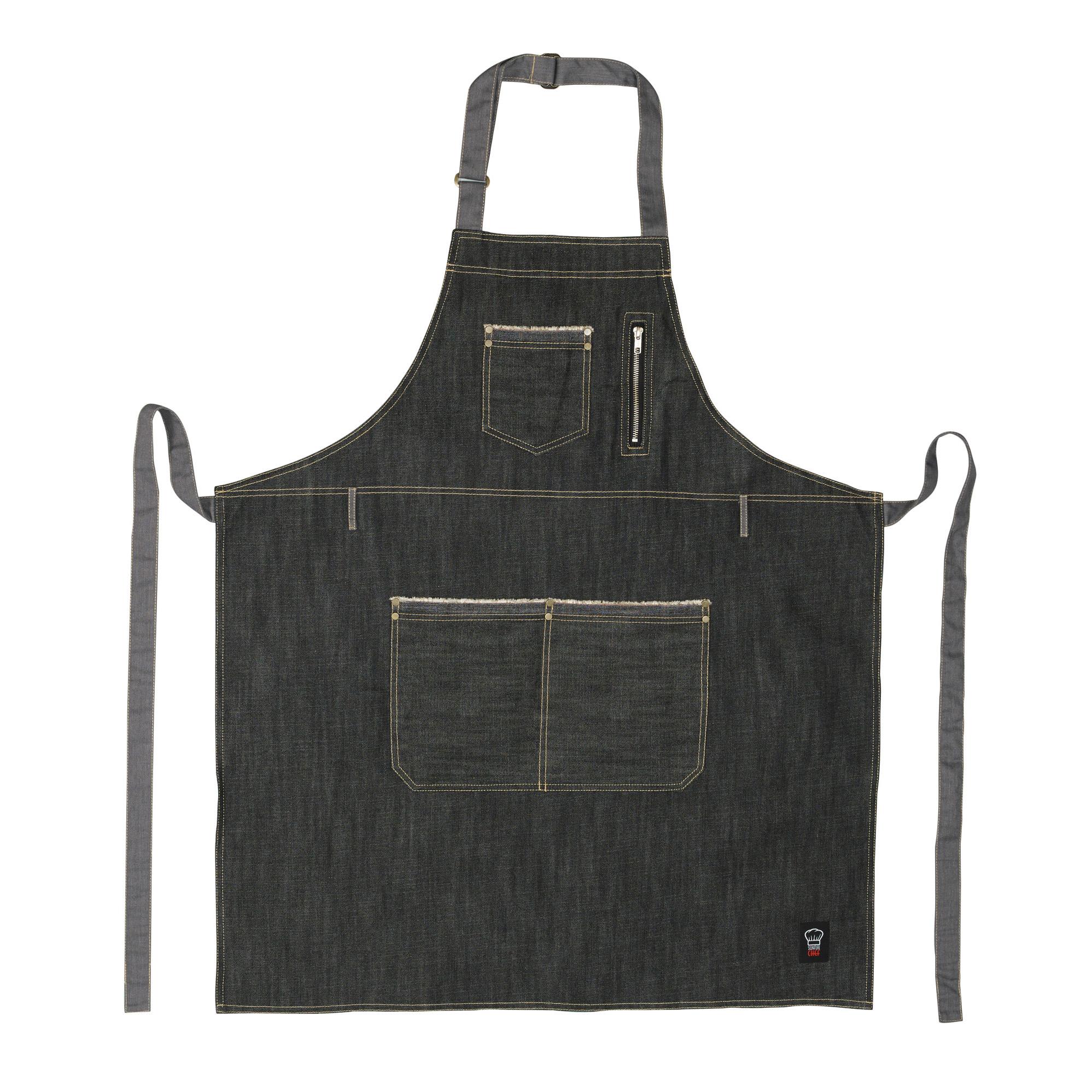 Winco BADN-3430 bib apron