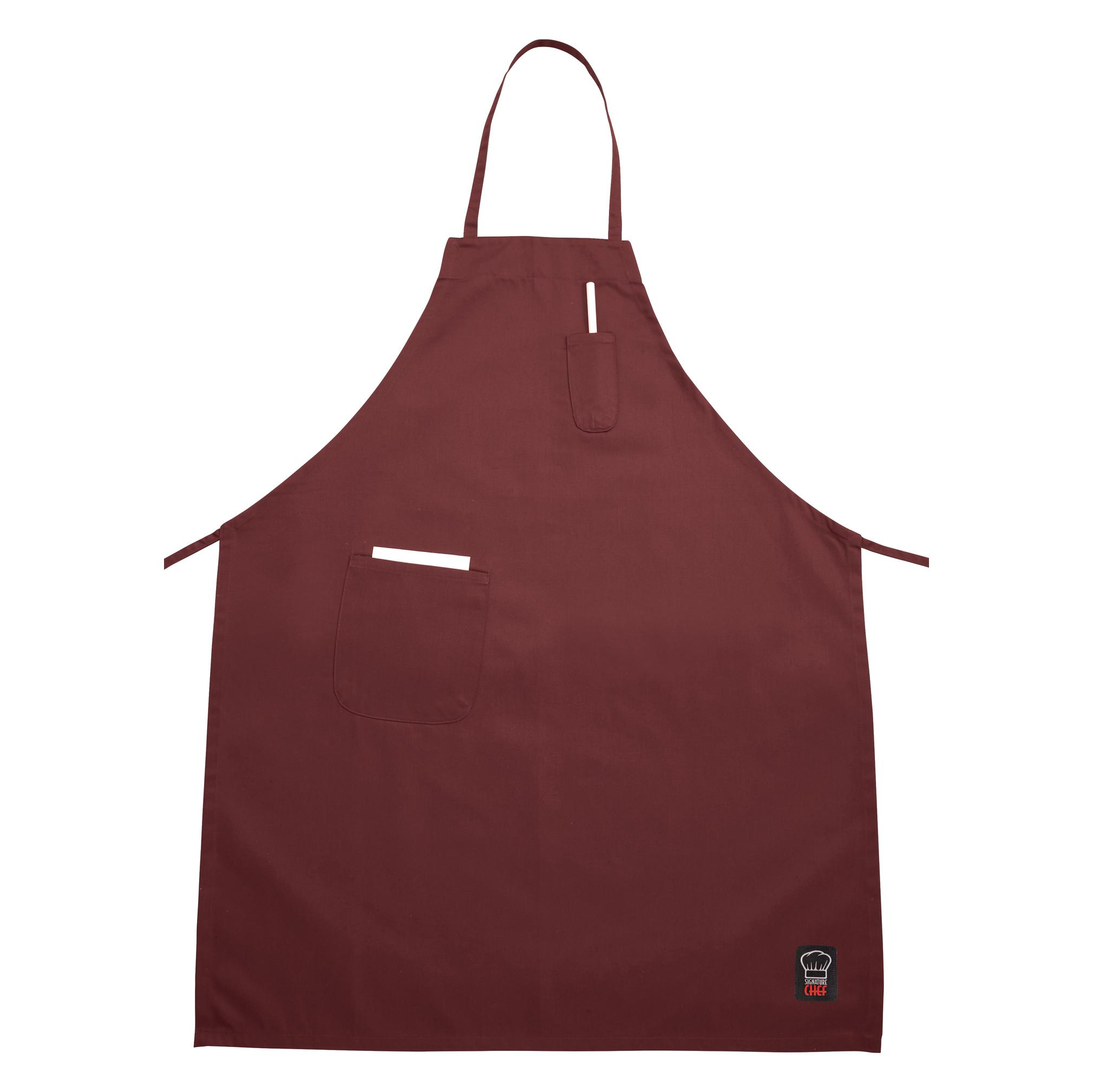 Winco BA-PBG bib apron