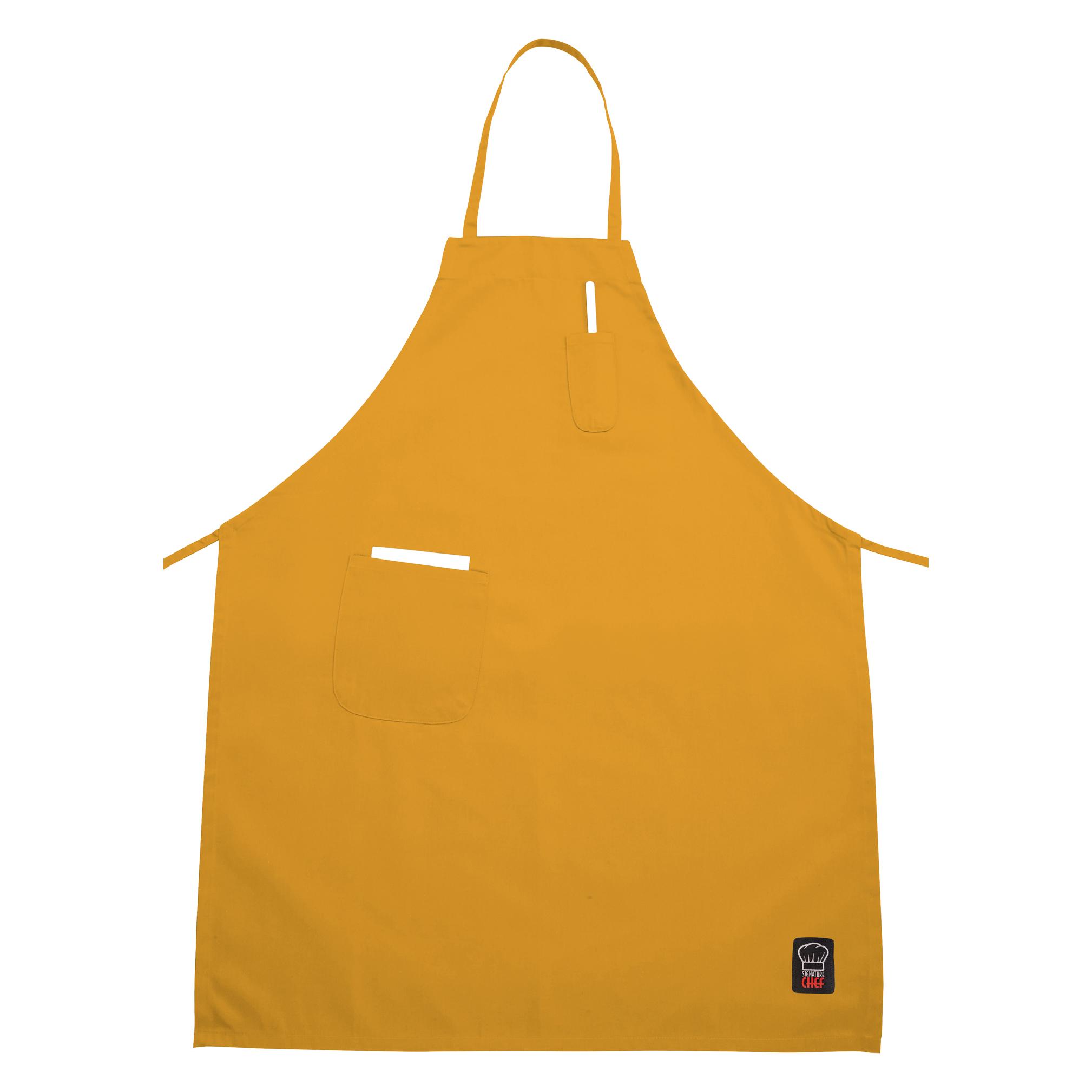 Winco BA-PYL bib apron