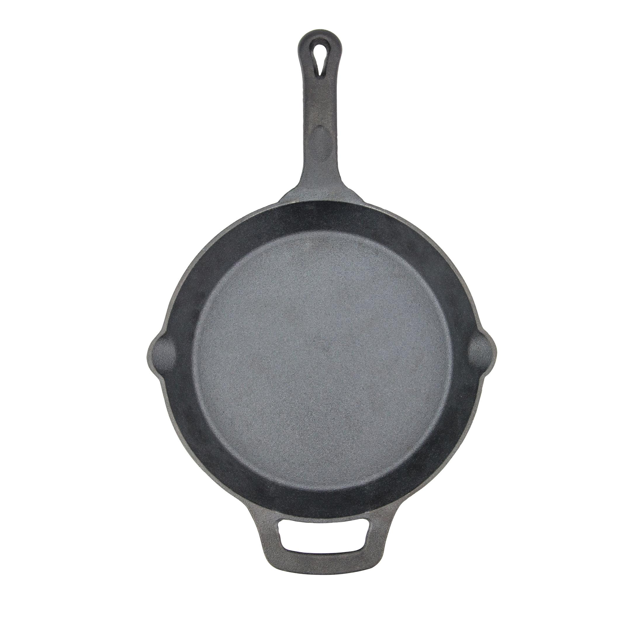 Winco CAST-10 cast iron fry pan
