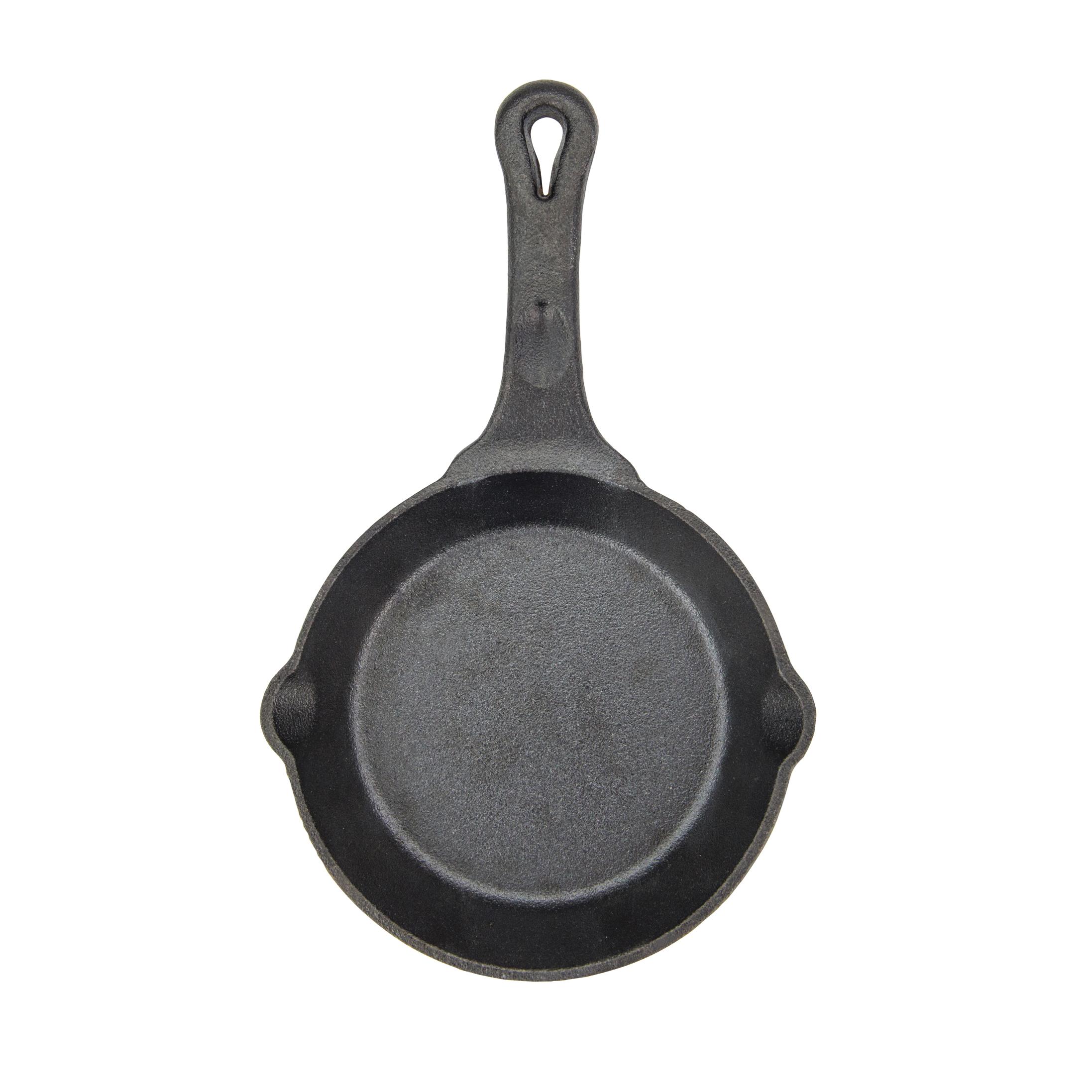 Winco CAST-6 cast iron fry pan