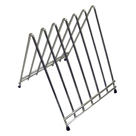 Winco CB-6L cutting board rack