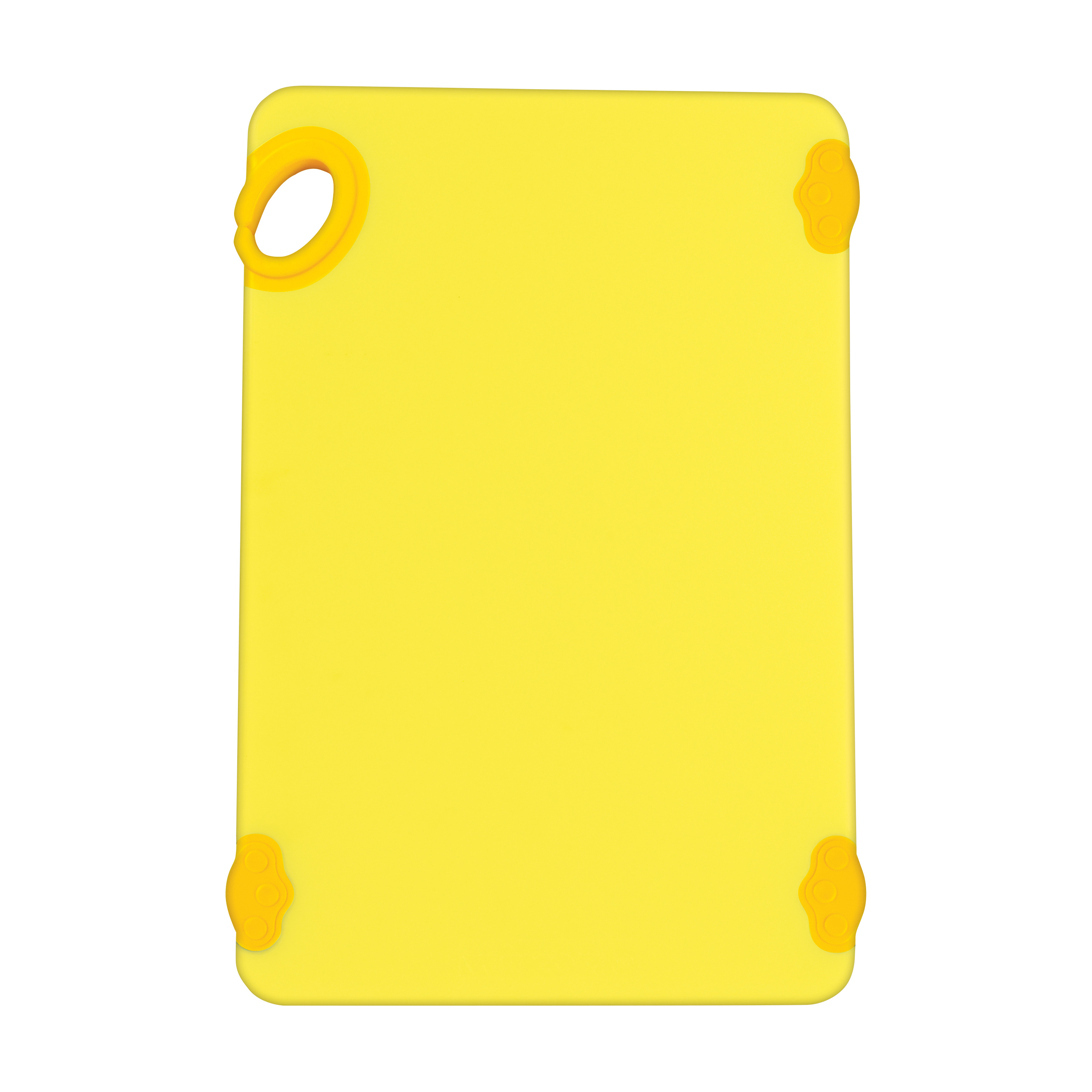 Winco CBK-1218YL cutting board, plastic