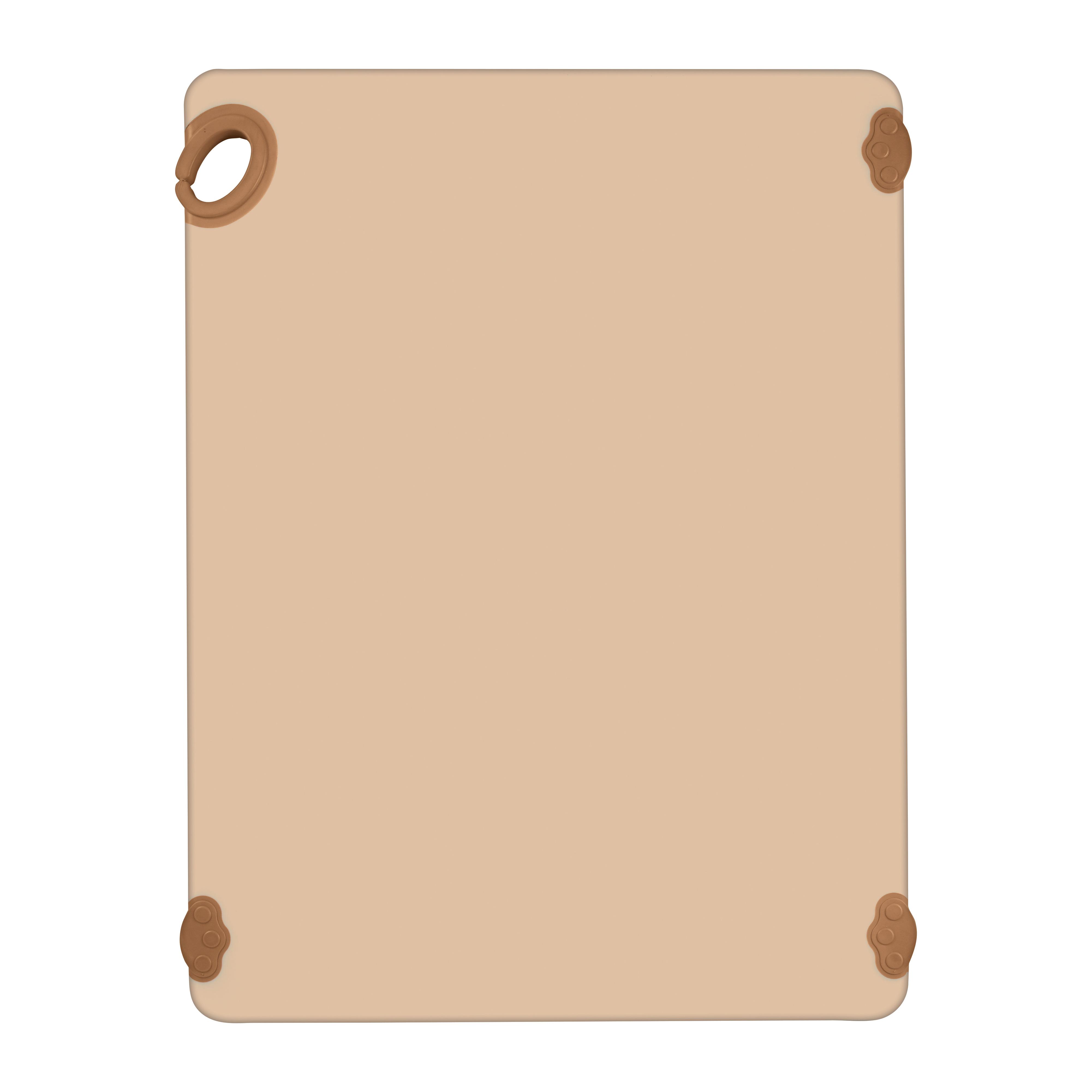 Winco CBK-1824BN cutting board, plastic