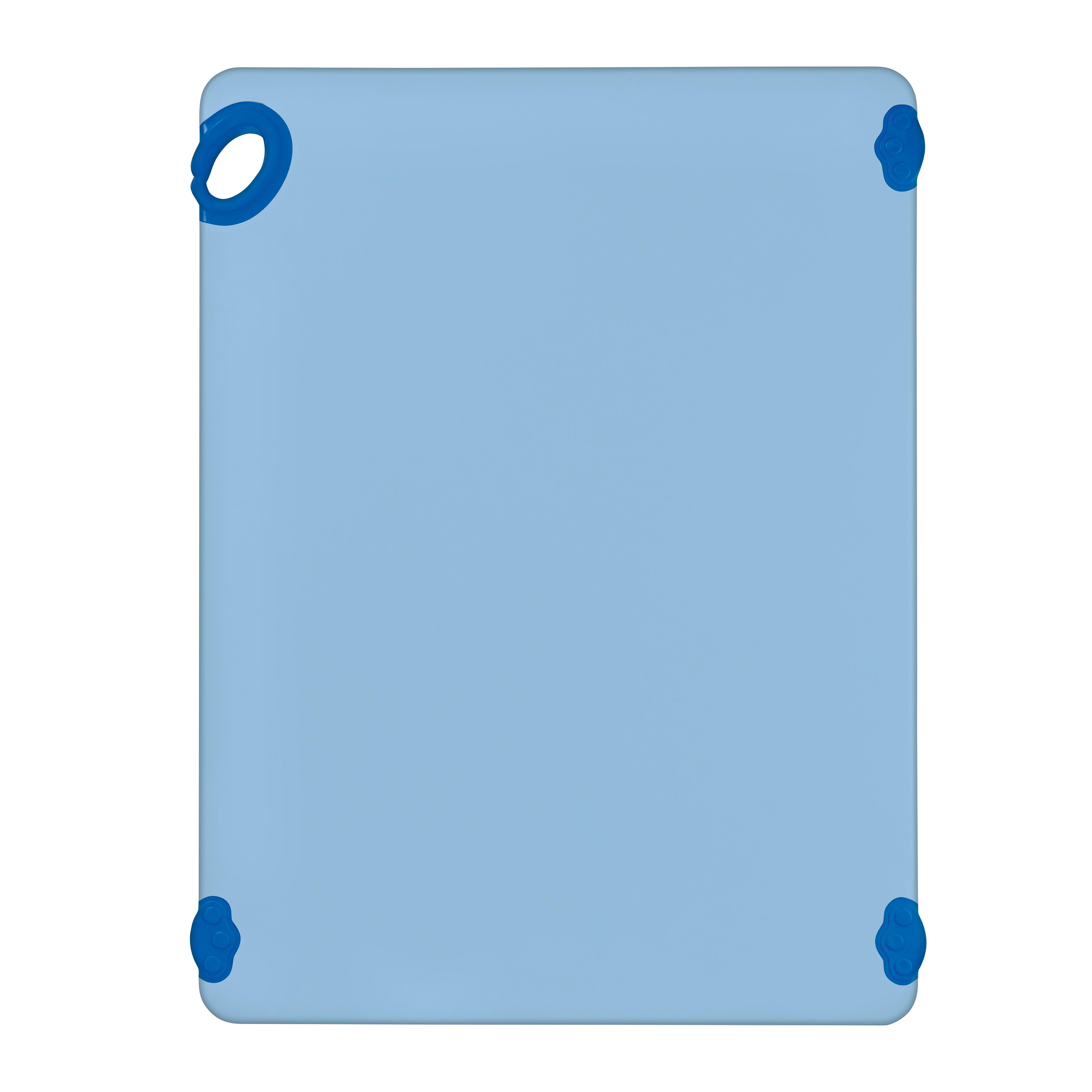 Winco CBK-1824BU cutting board, plastic