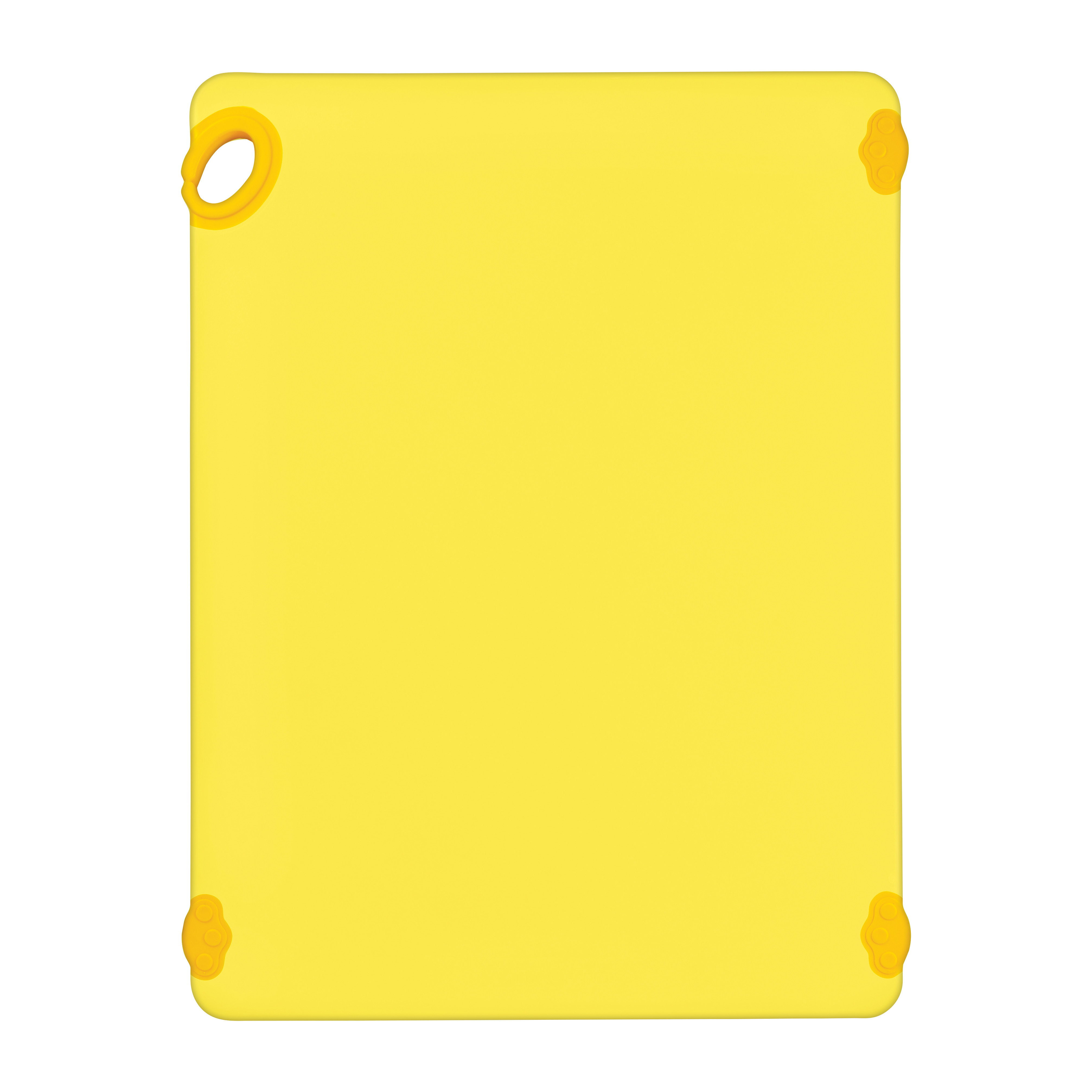 Winco CBK-1824YL cutting board, plastic