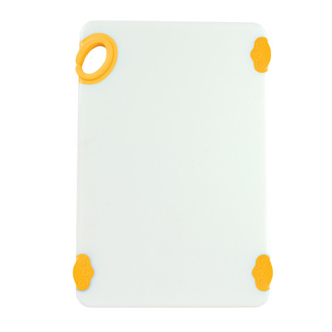 Winco CBN-1218YL cutting board, plastic
