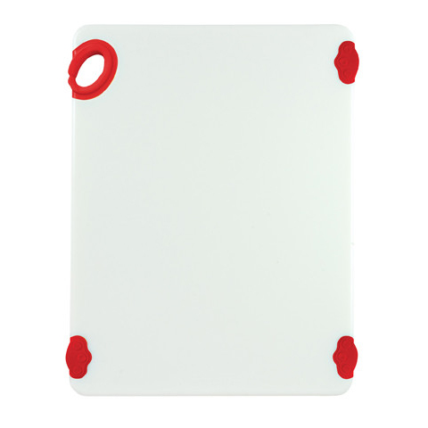 Winco CBN-1520RD cutting board, plastic