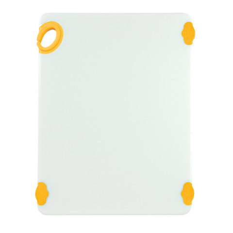 Winco CBN-1520YL cutting board, plastic