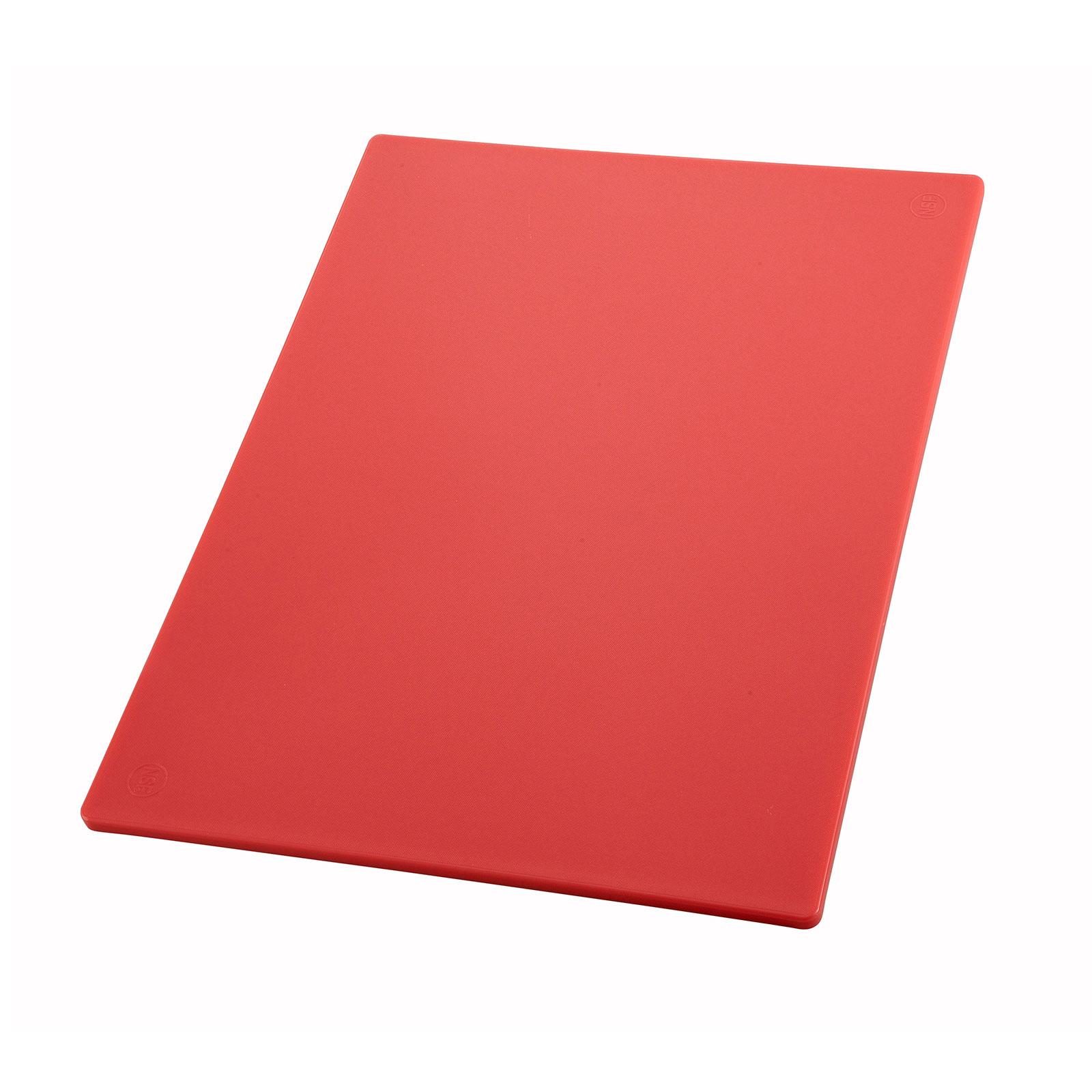Winco CBRD-1218 cutting board, plastic