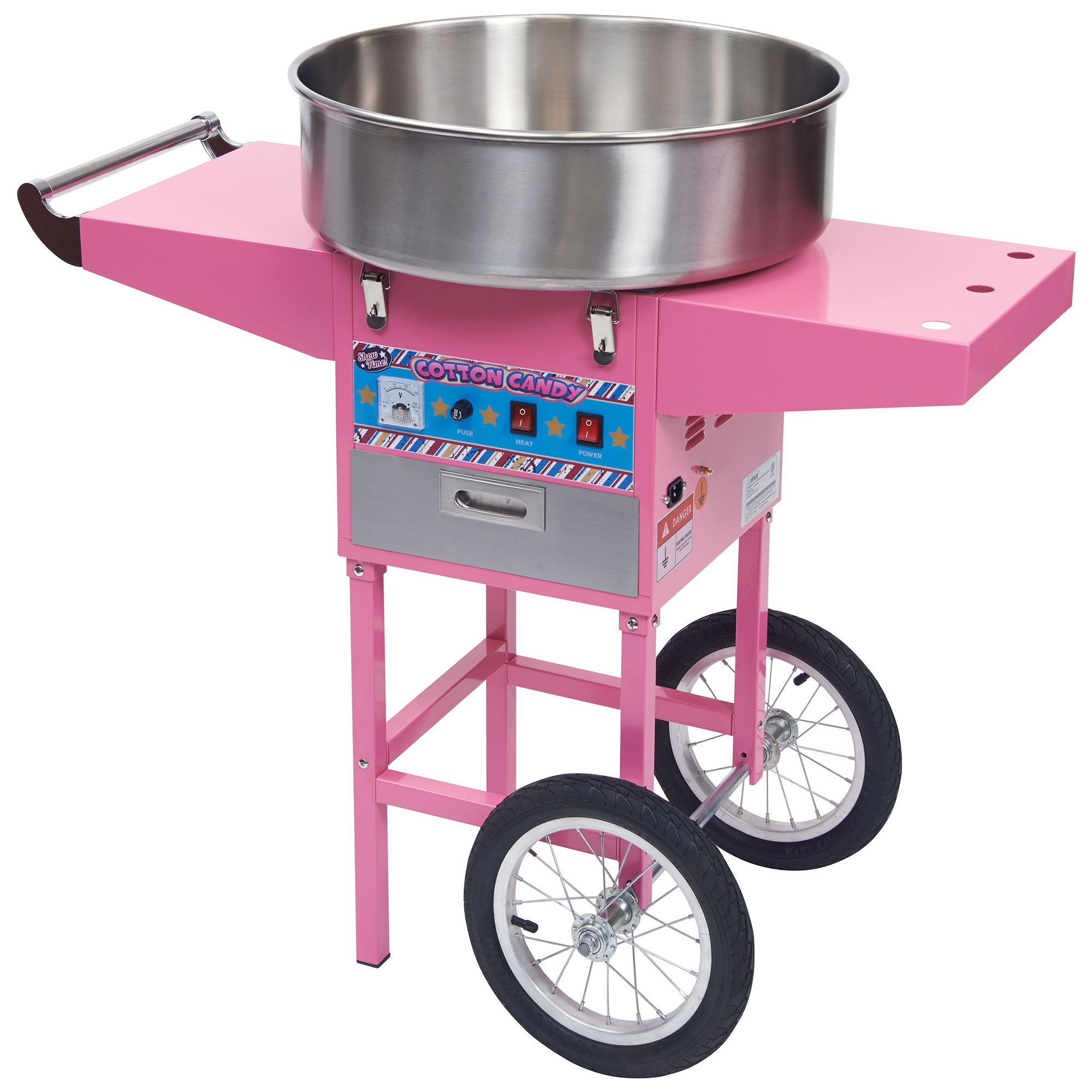 Winco CCM-28M cotton candy machine & display
