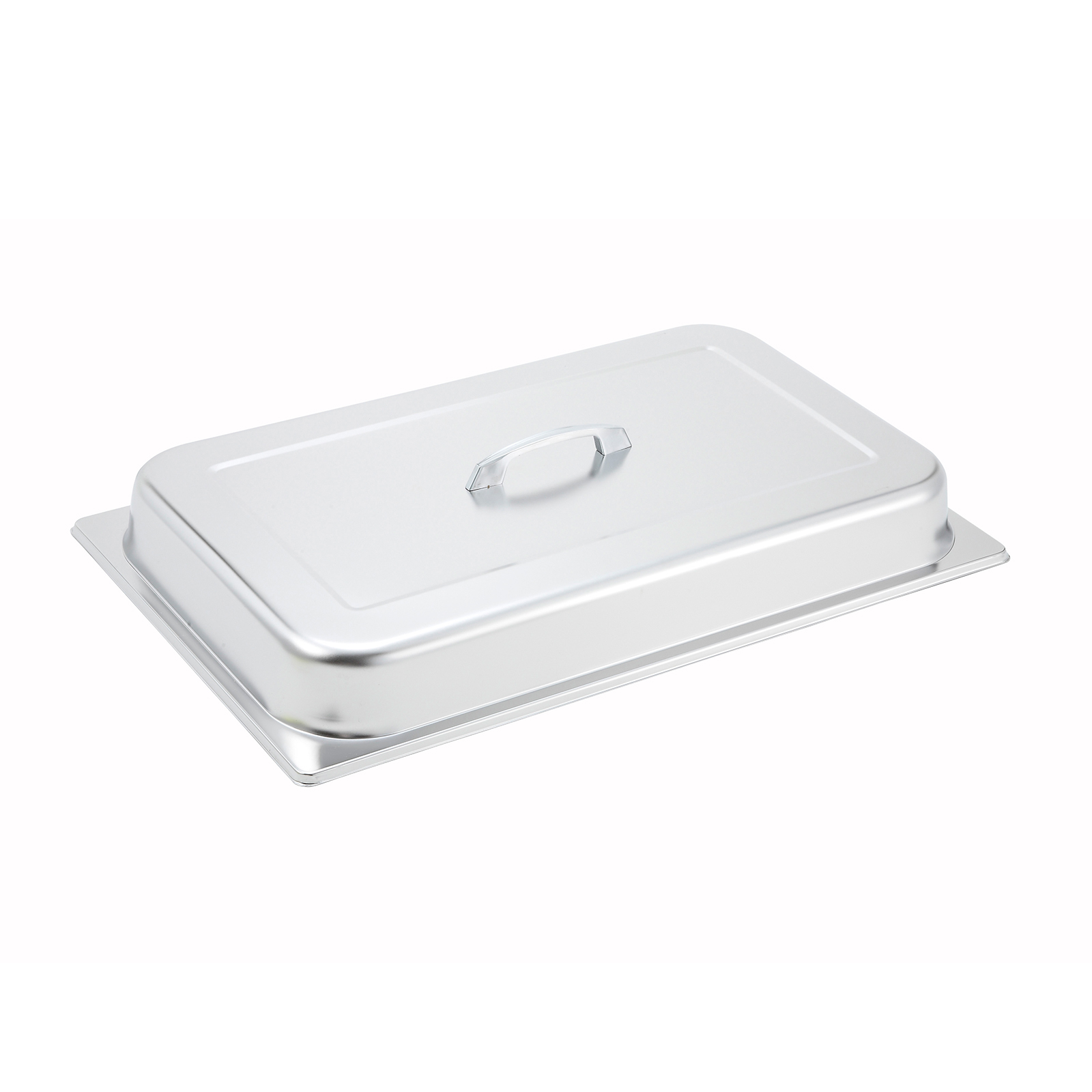 Winco C-DCF steam table pan cover, stainless steel