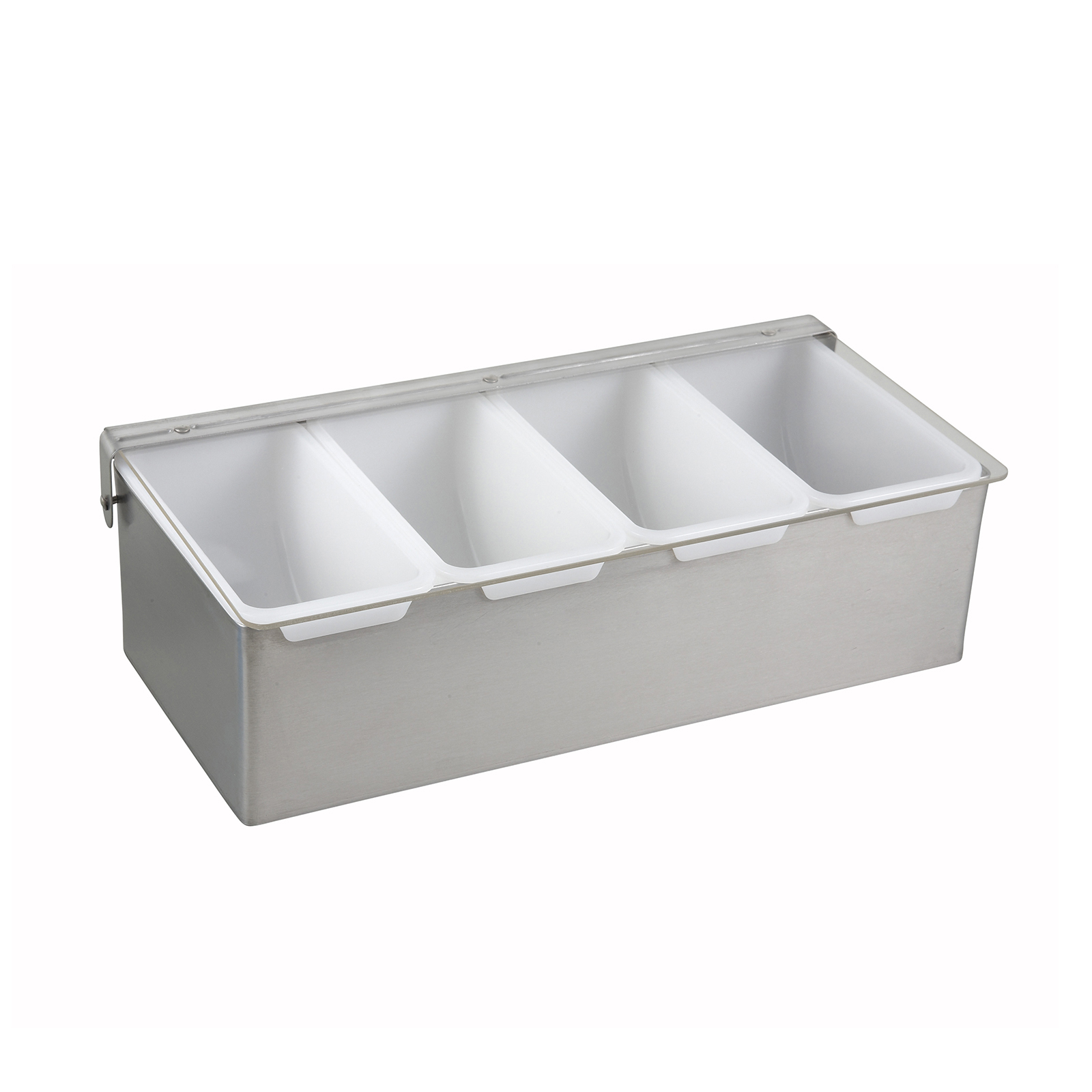 Winco CDP-4 condiment caddy, countertop organizer