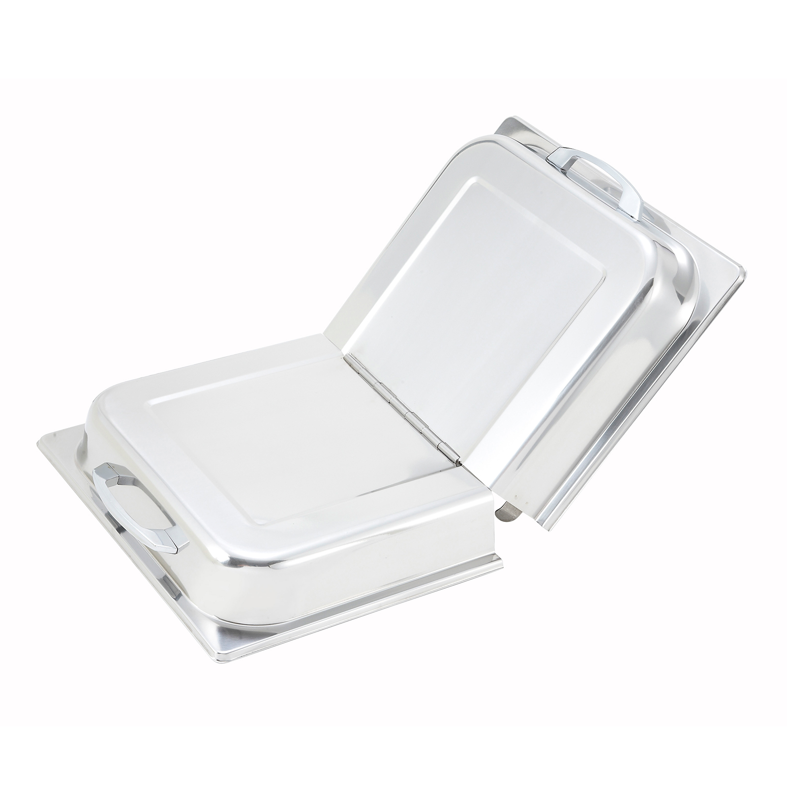 Winco C-HDC steam table pan cover, stainless steel