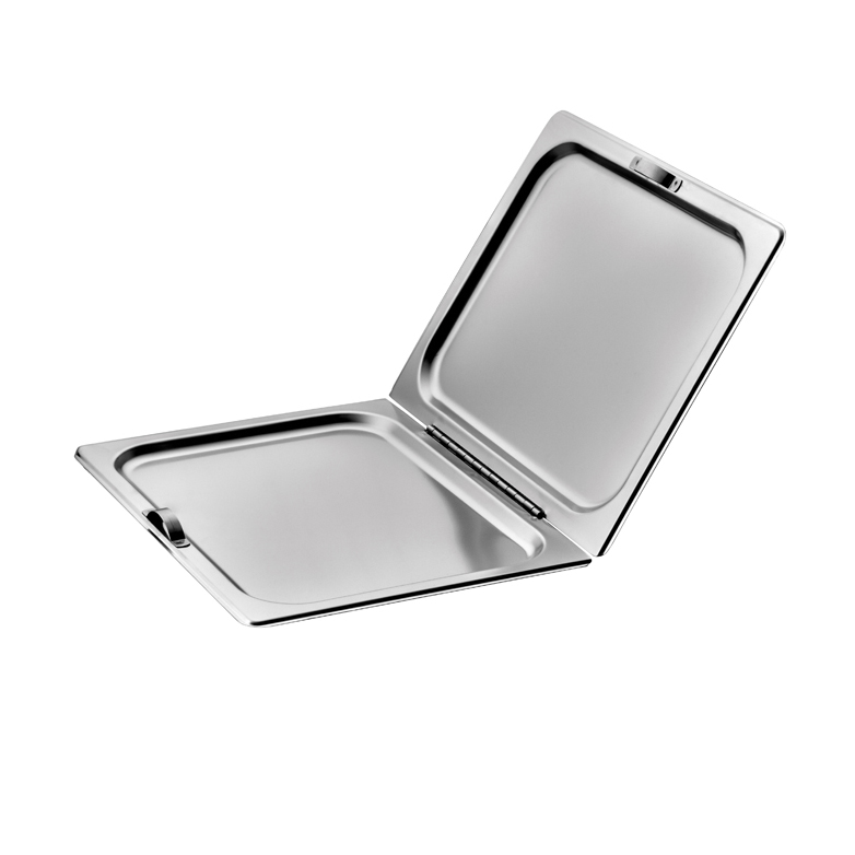 Winco C-HFC1 steam table pan cover, stainless steel
