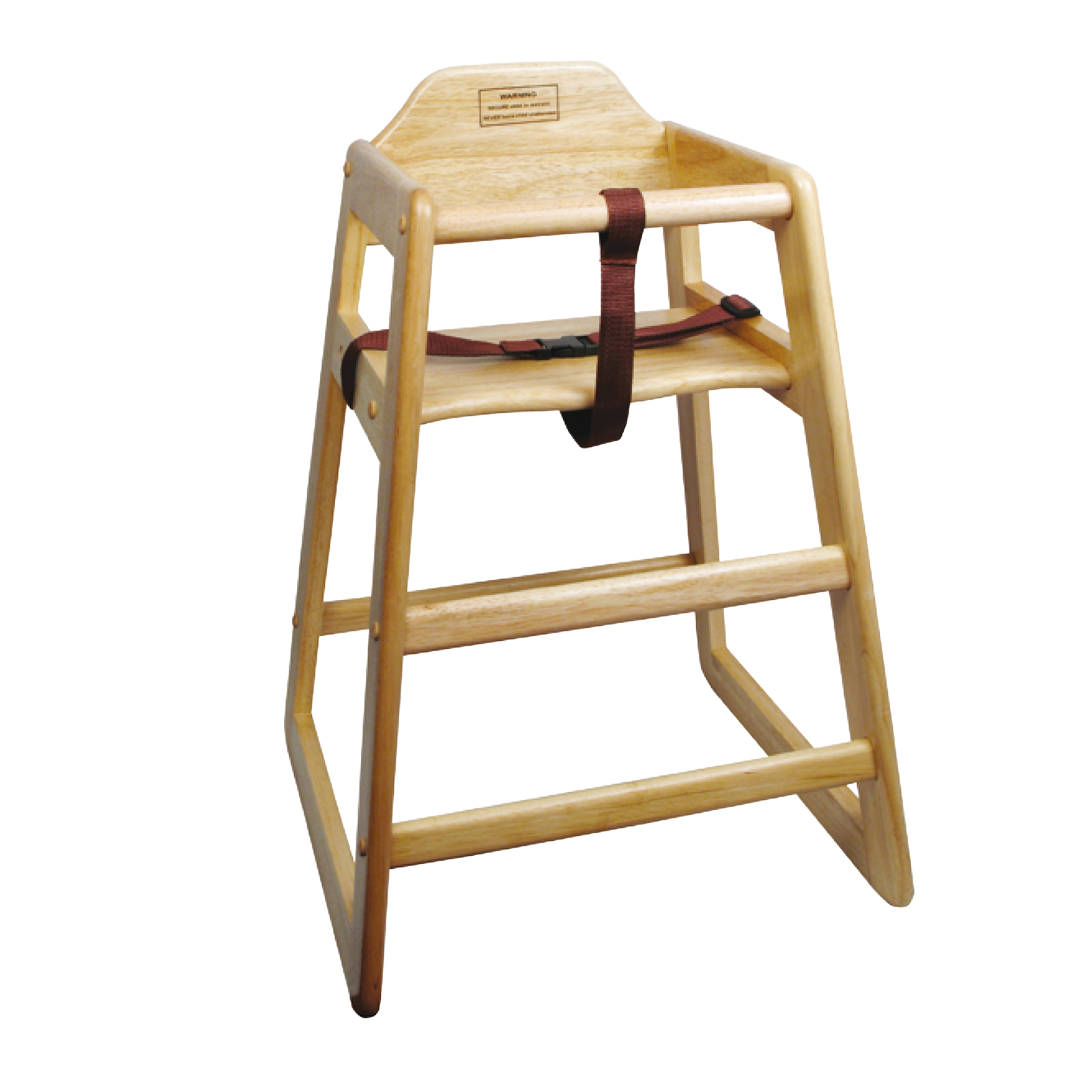Winco CHH-101 high chair, wood