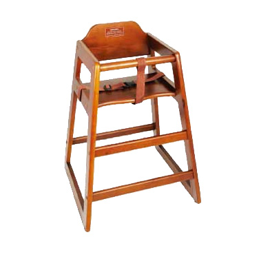 Winco CHH-104 high chair, wood