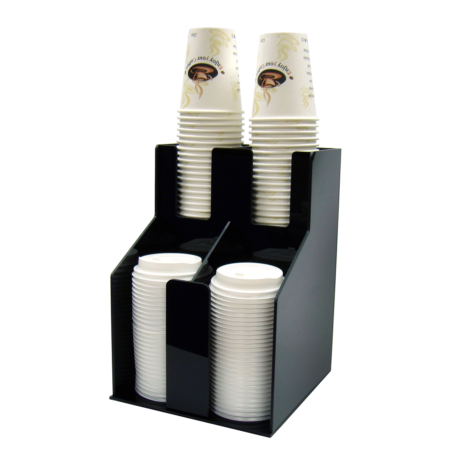 Winco CLO-2D cup & lid organizer