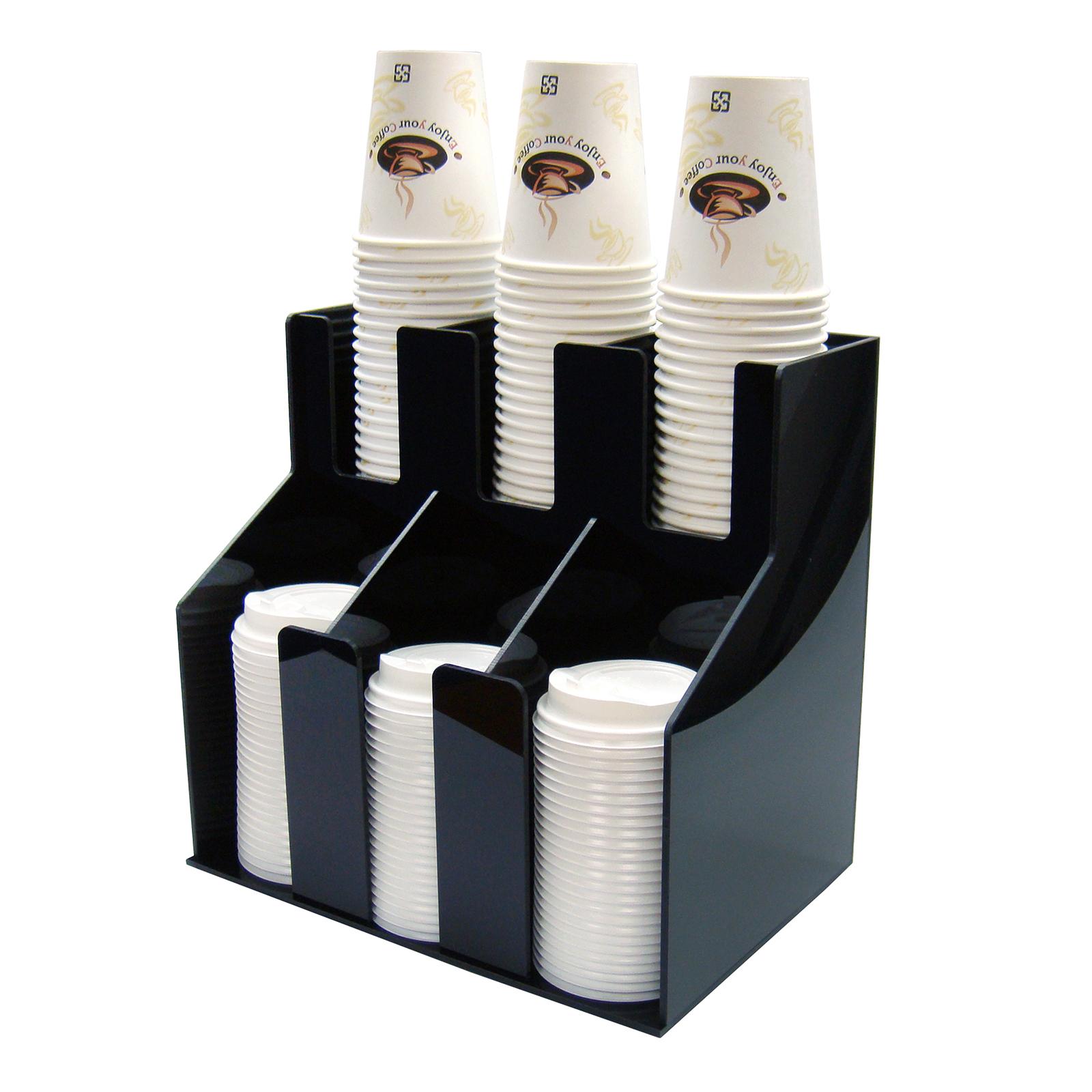 Winco CLO-3D cup & lid organizer