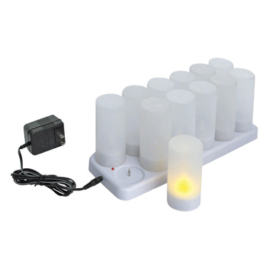 Winco CLR-12S candle, flameless