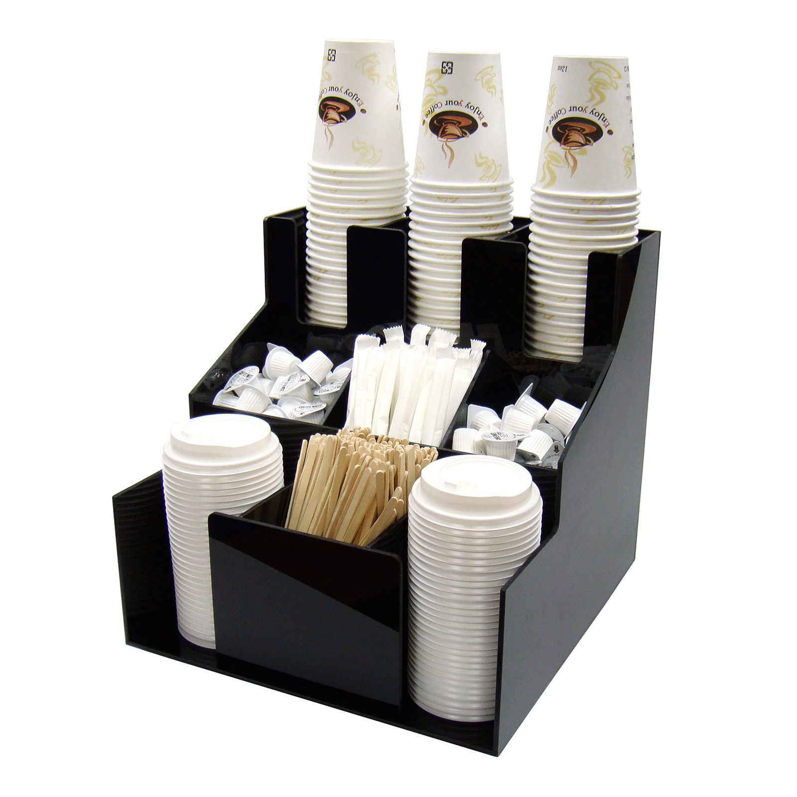 Winco CLSO-3T cup & lid organizer