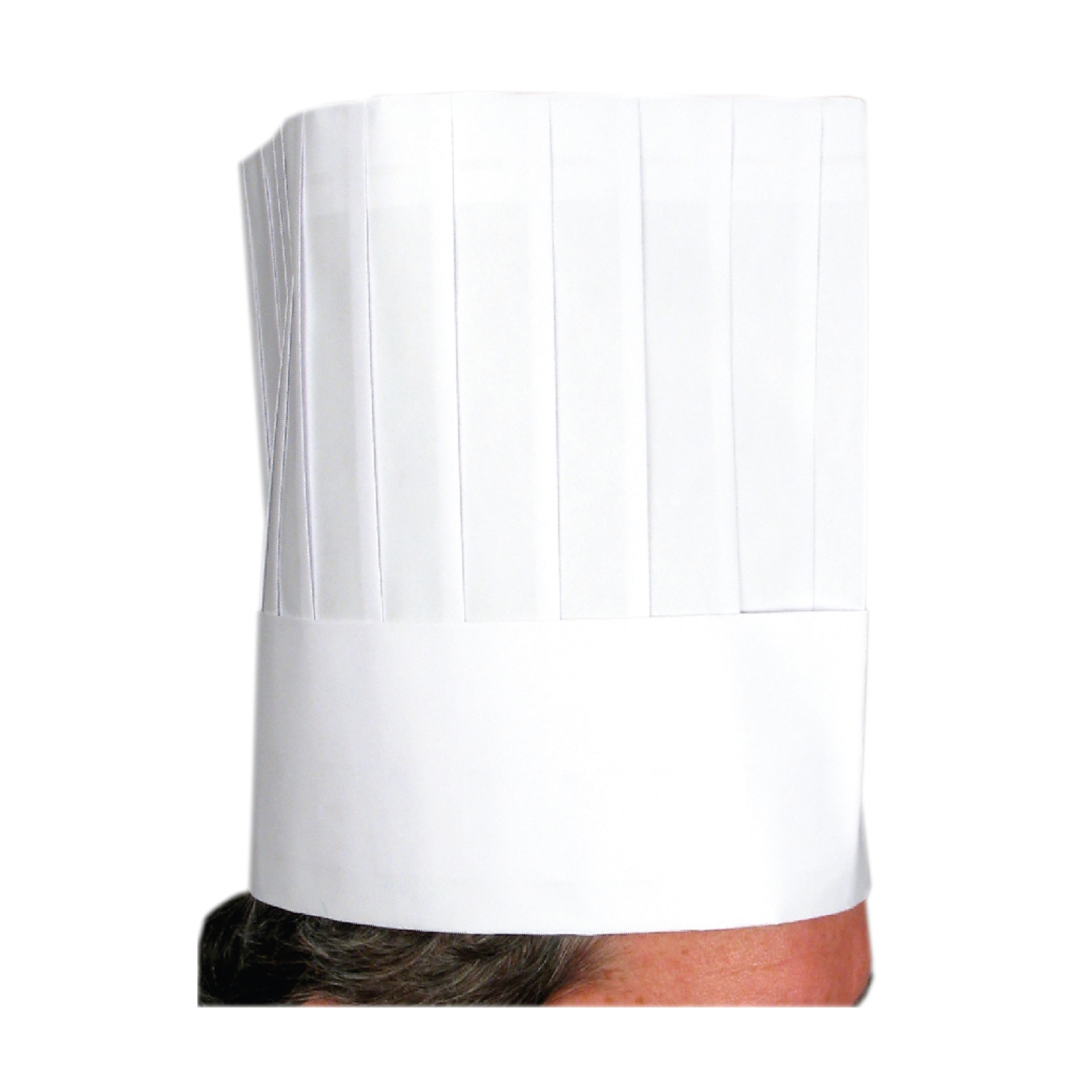 1550-22 Winco DCH-9 disposable chef's hat