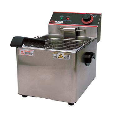 Winco EFS-16 fryer, electric, countertop, full pot