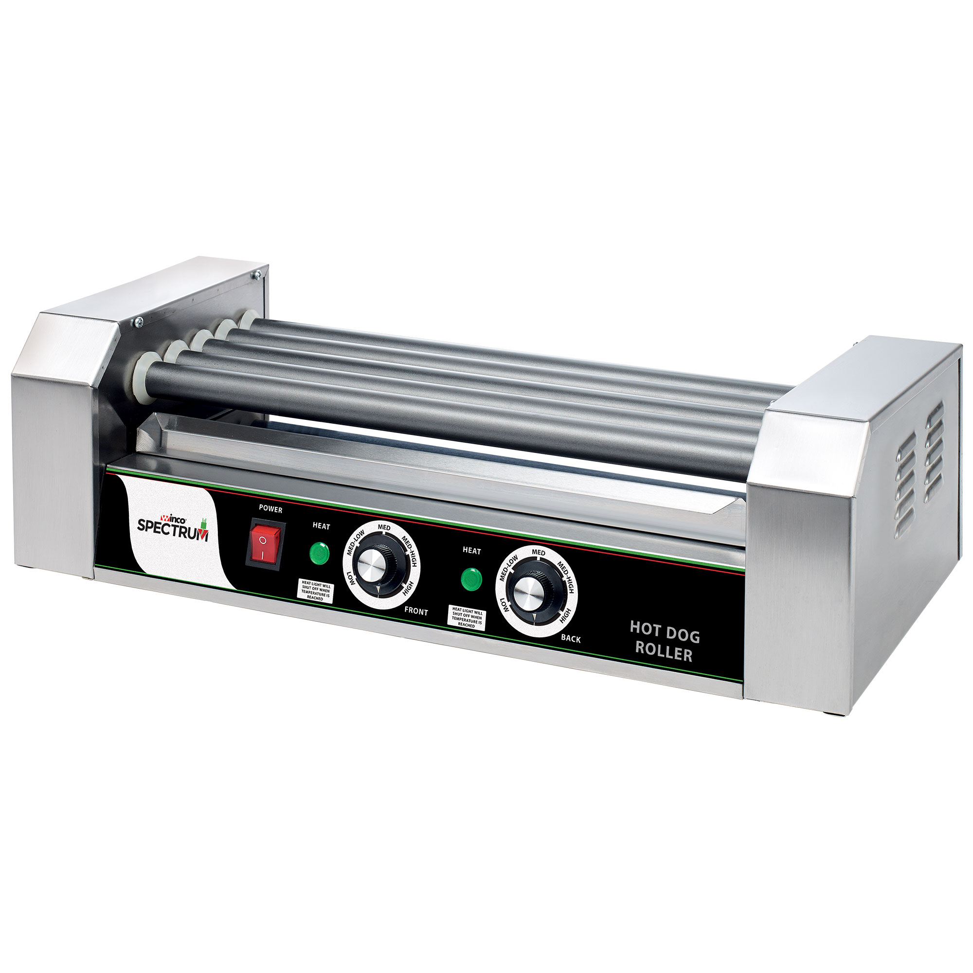 Winco EHDG-5R hot dog grill