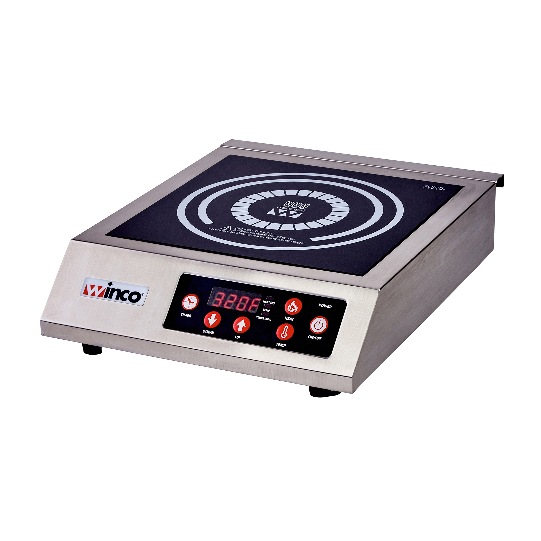 Winco EIC-400 induction range, countertop