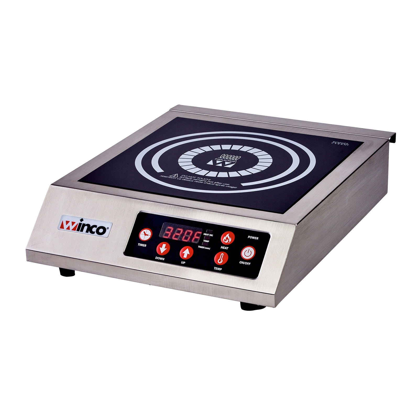 Winco EIC-400C induction range, countertop