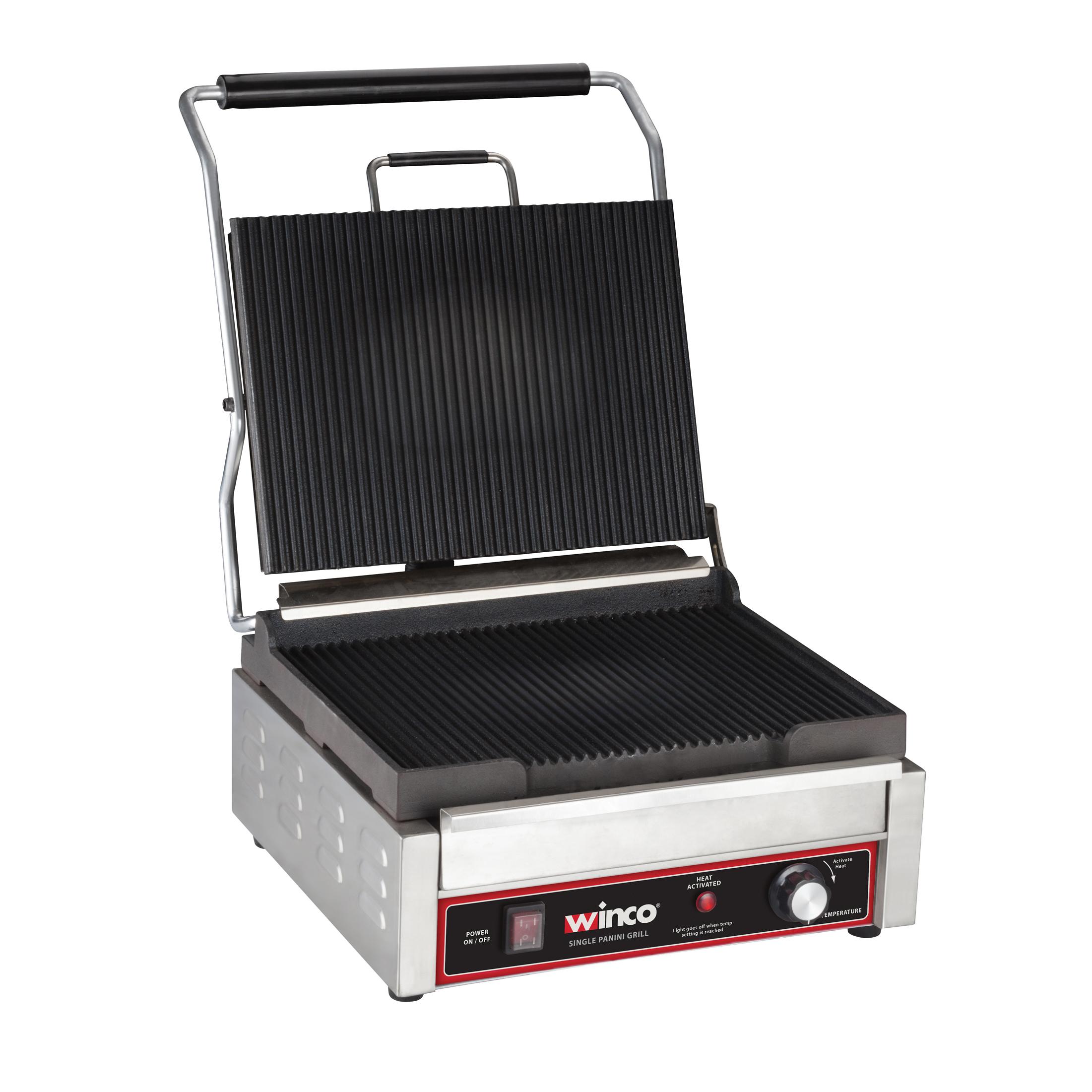 Winco EPG-1C sandwich / panini grill