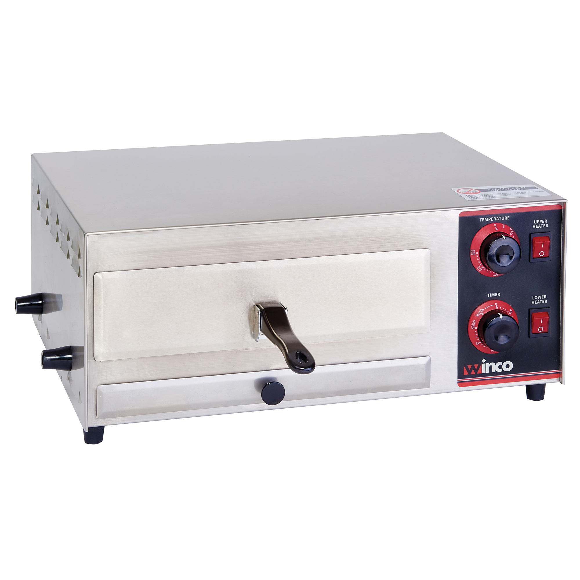 Winco EPO-1 pizza bake oven, countertop, electric