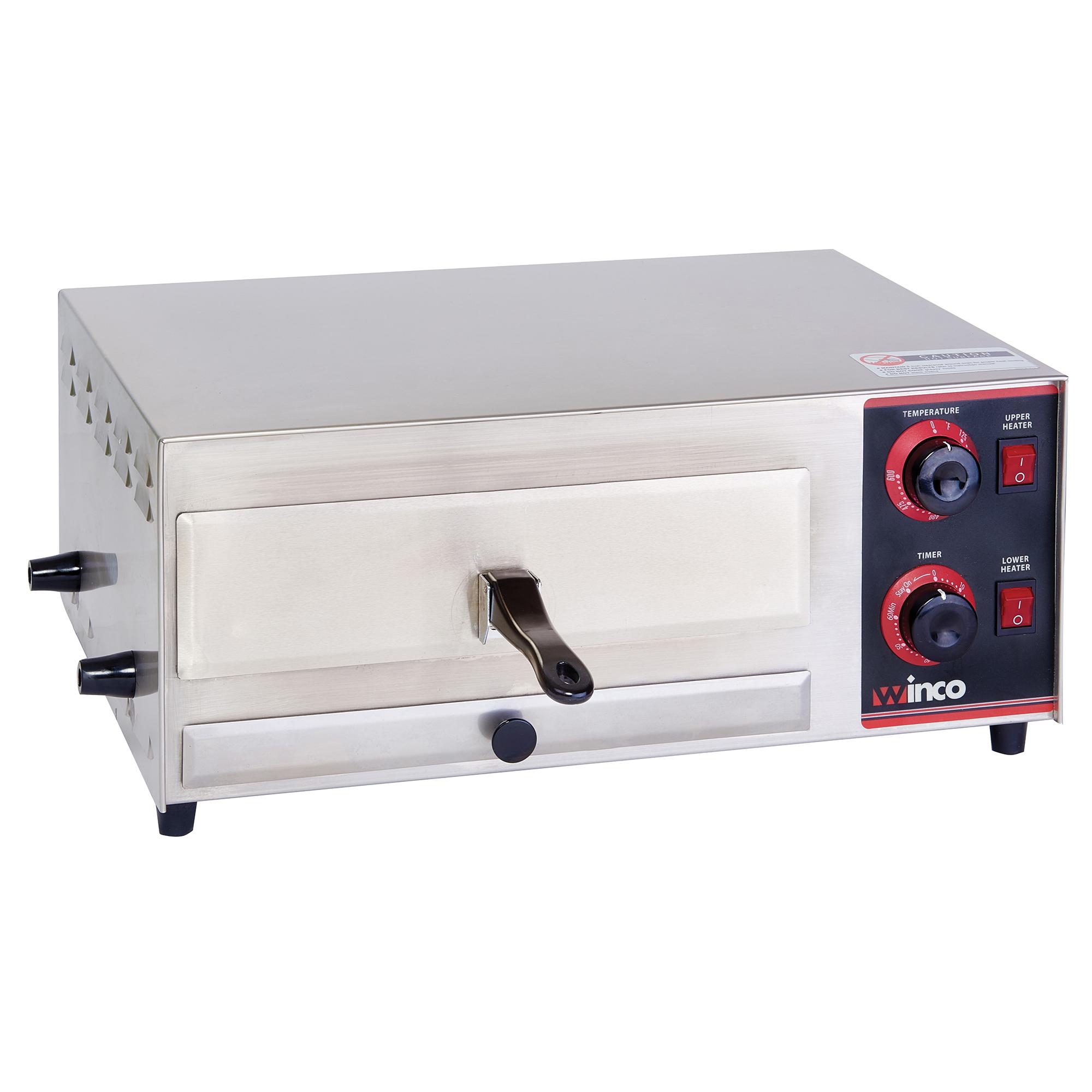 Winco EPO-1 pizza bake oven, countertop, electric