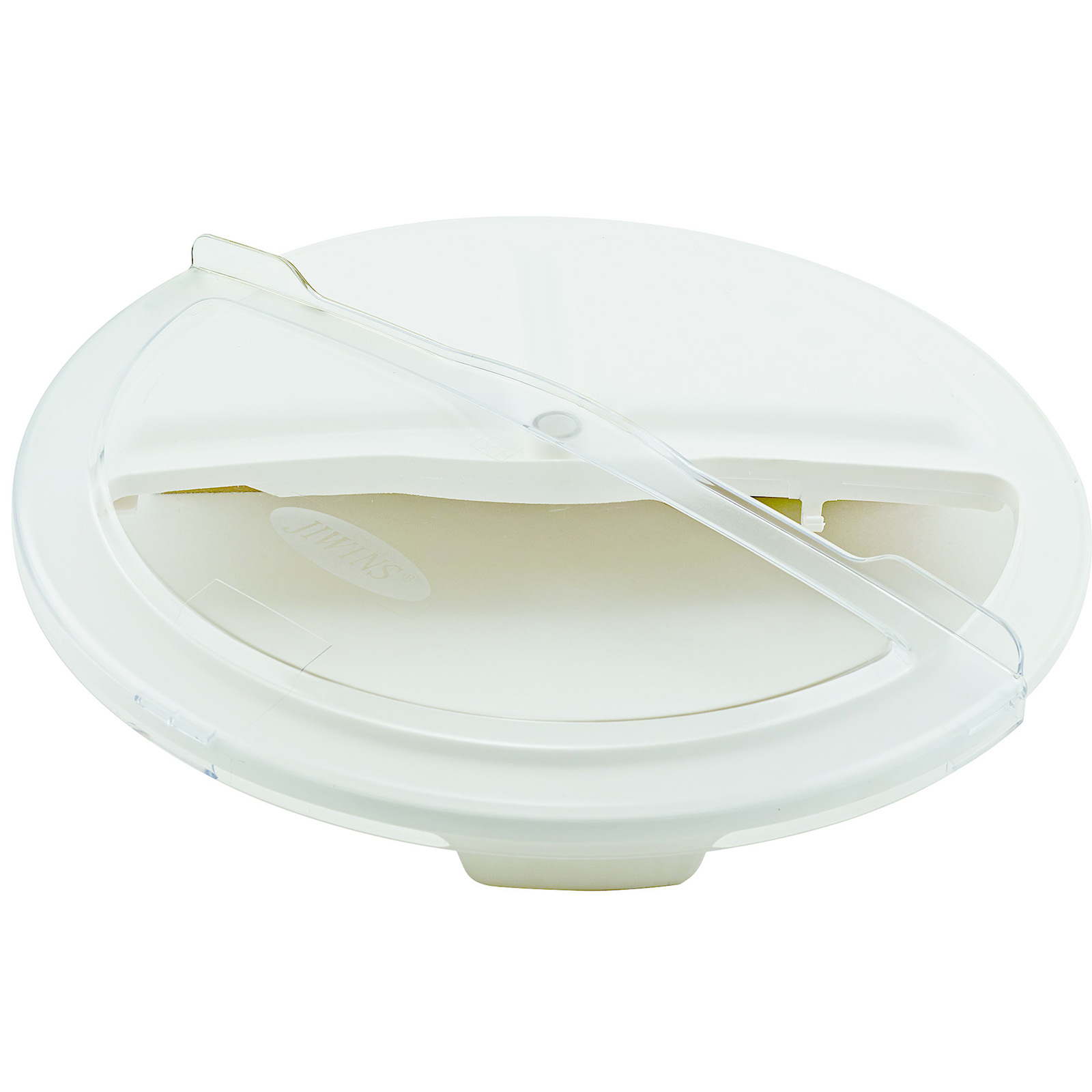Winco FCW-10RC trash receptacle lid / top