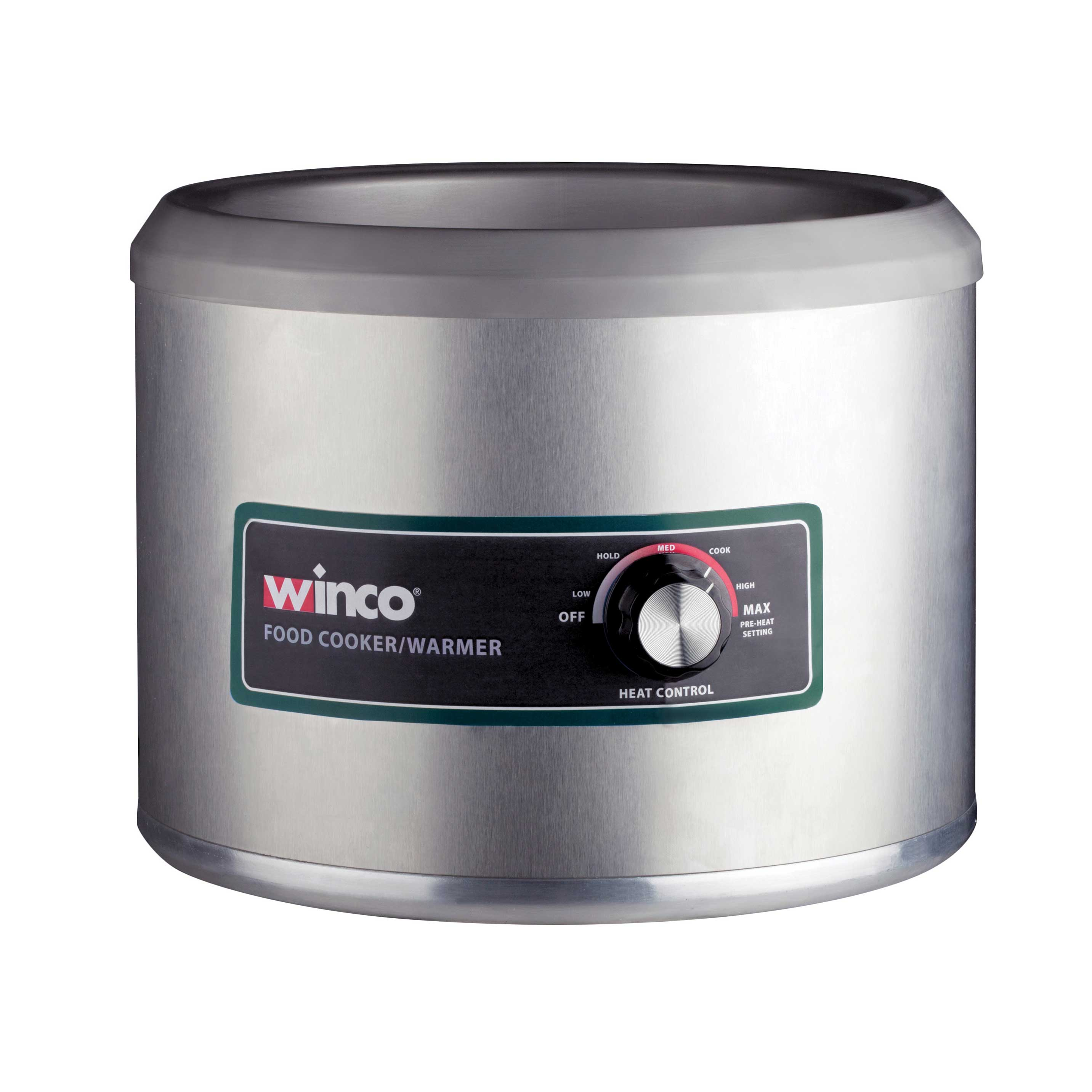 Winco FW-11R500 food pan warmer/cooker, countertop
