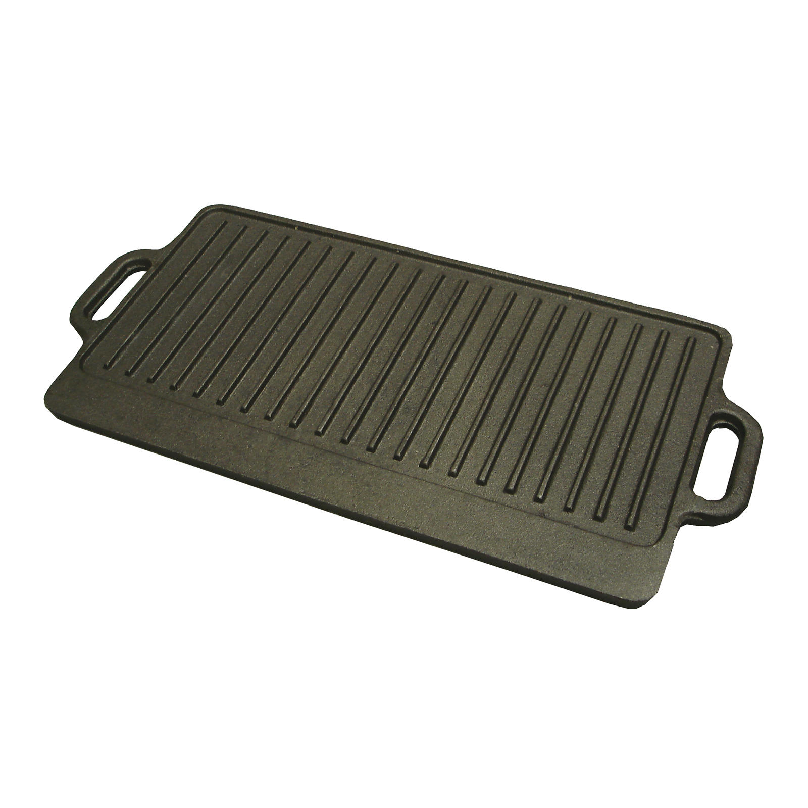 Winco IGD-2095 cast iron grill / griddle plate