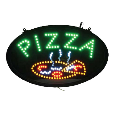 Winco LED-11 sign, lighted