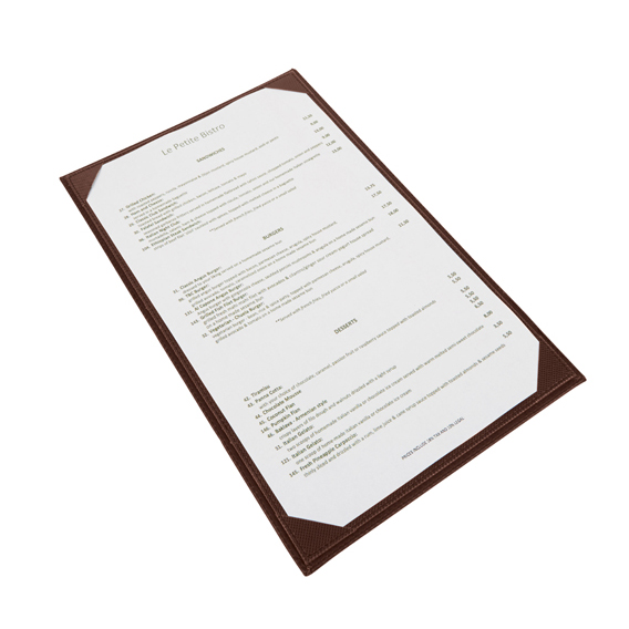 Winco LMS-814BN menu cover